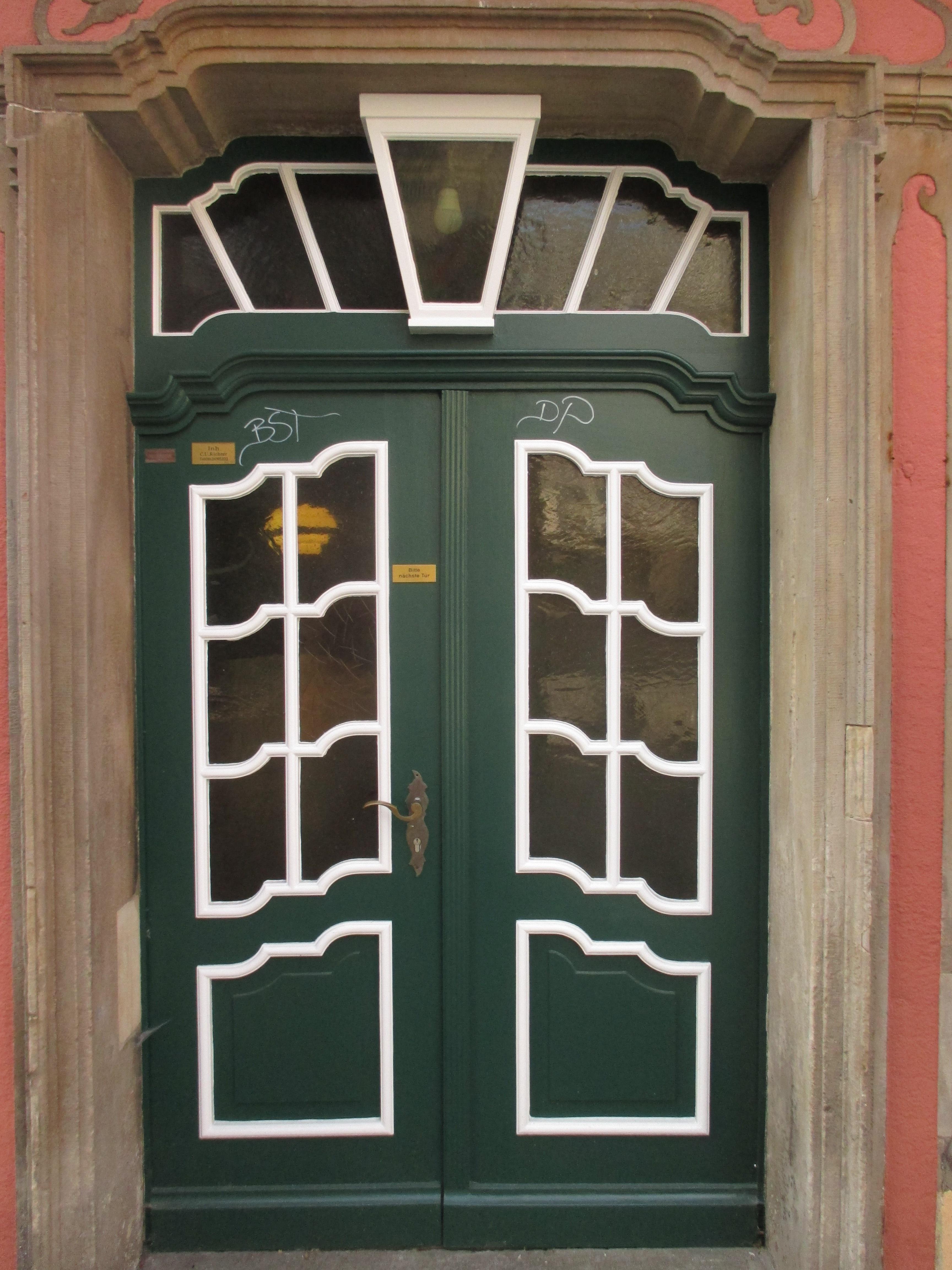 Haustür holz grün  Kostenlose foto : Holz, Villa, Fenster, alt, Grün, Fassade, Tür ...