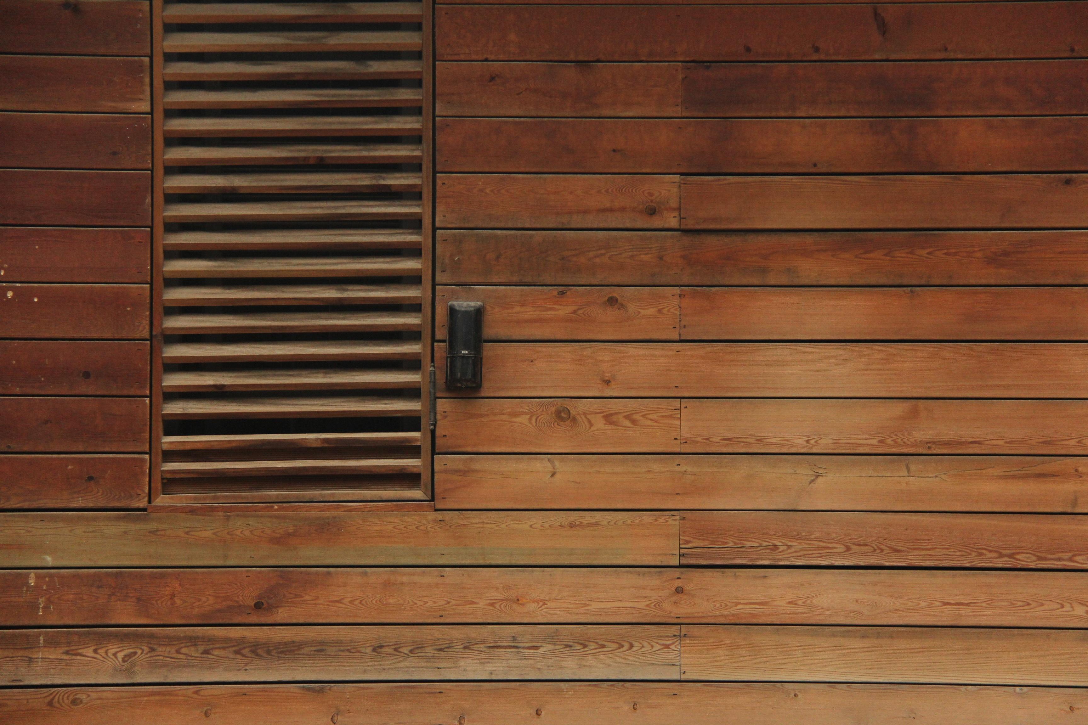 Gambar Papan Lantai Jendela Coklat Pintu Desain