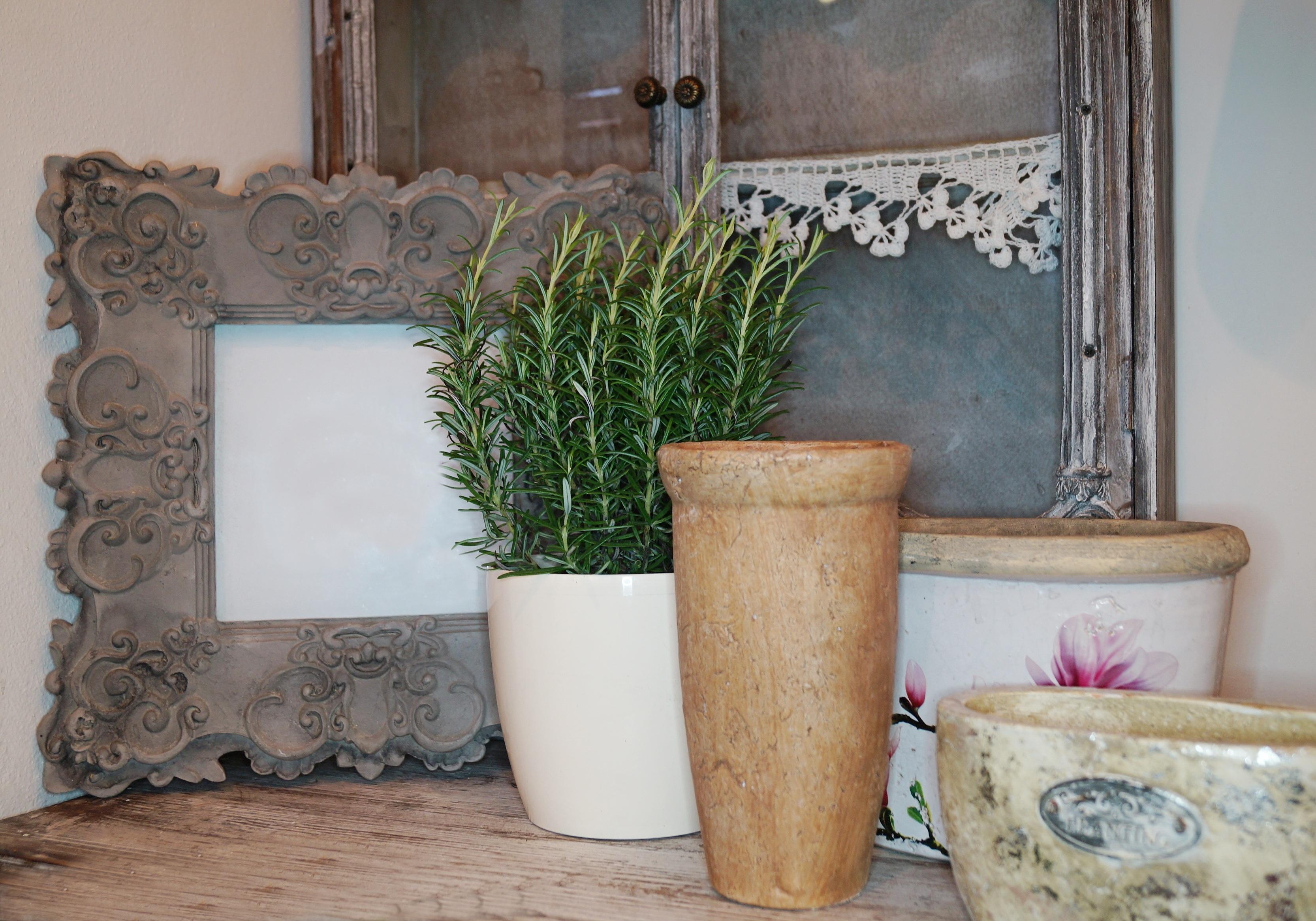 Holz Retro Mauer Dekoration Keramik Wohnzimmer Möbel Zimmer Beleuchtung  Dekor Stillleben Innenarchitektur Blumentopf Rand Kräuter Mann