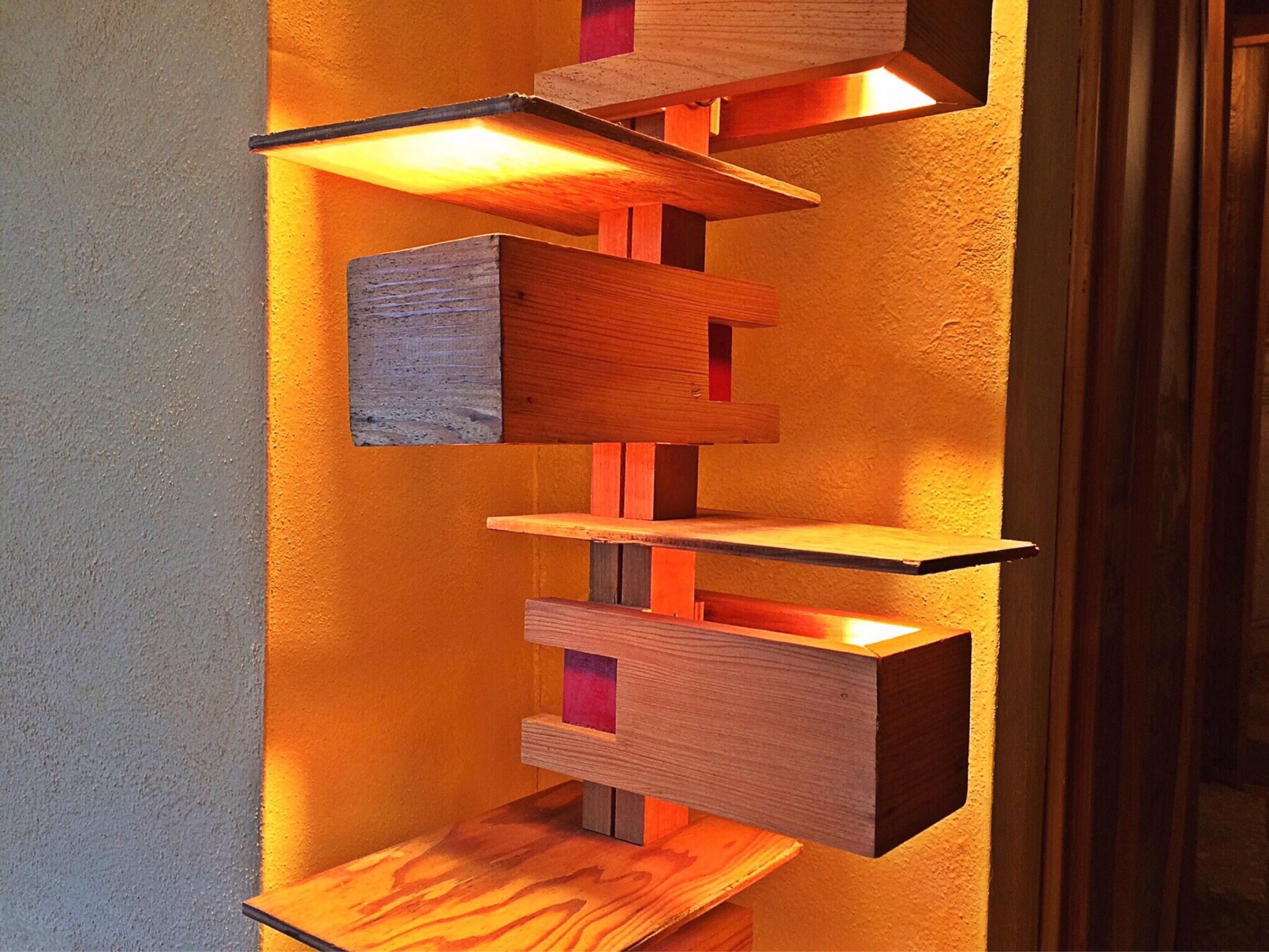 Gratuites bois étag¨re lampe meubles chambre