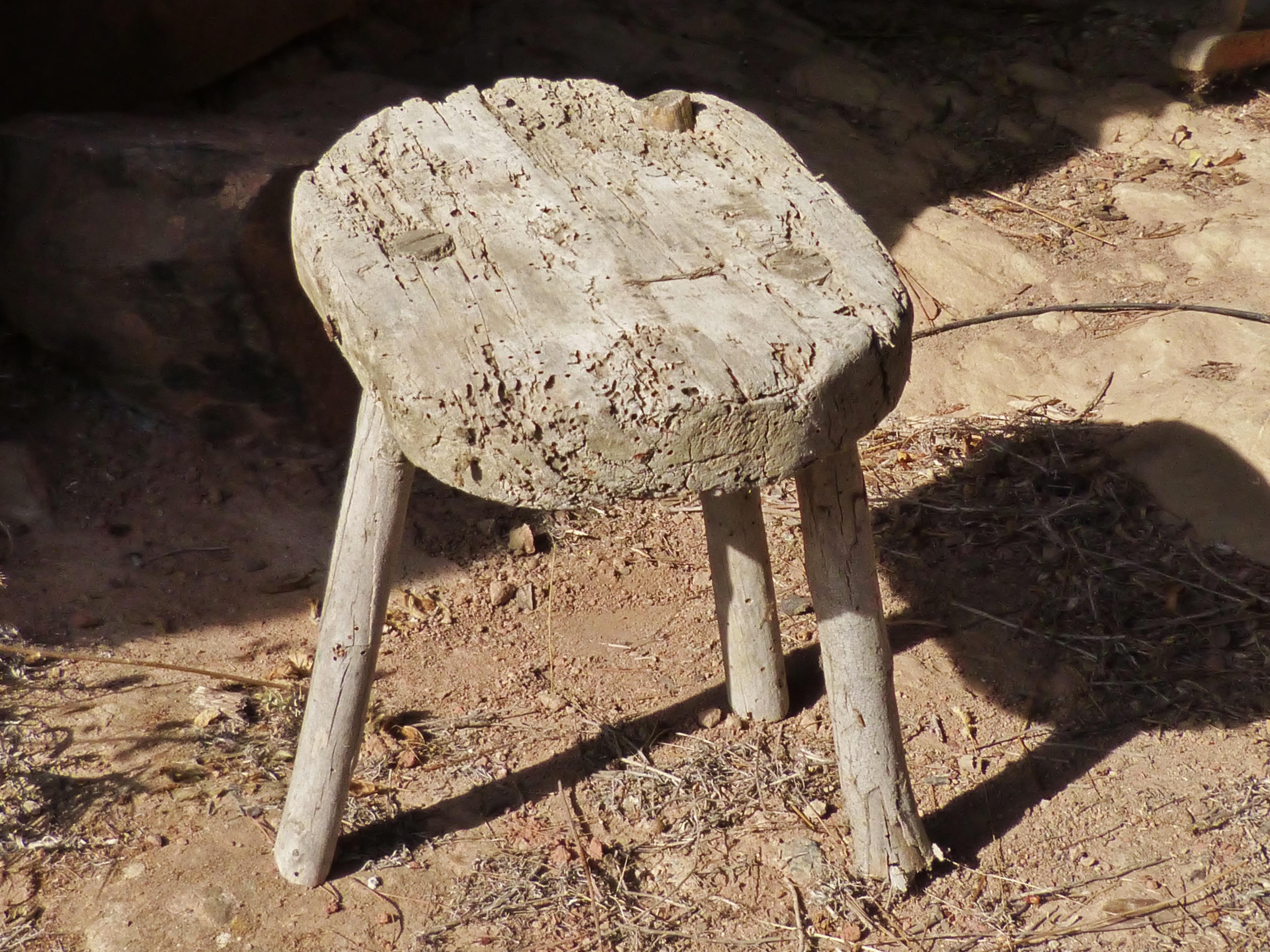 Kostenlose foto : Holz, Schemel, alt, rustikal, Tierwelt, Boden ...