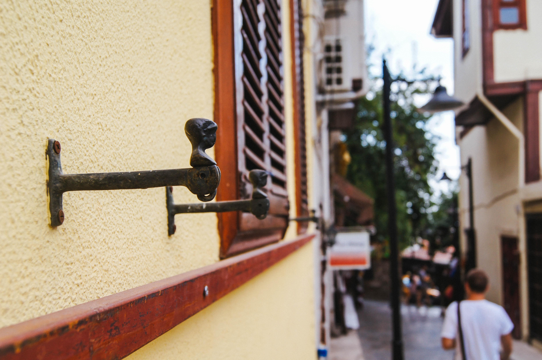 Fotos Gratis Madera Calle Casa Ventana Fachada Antalya