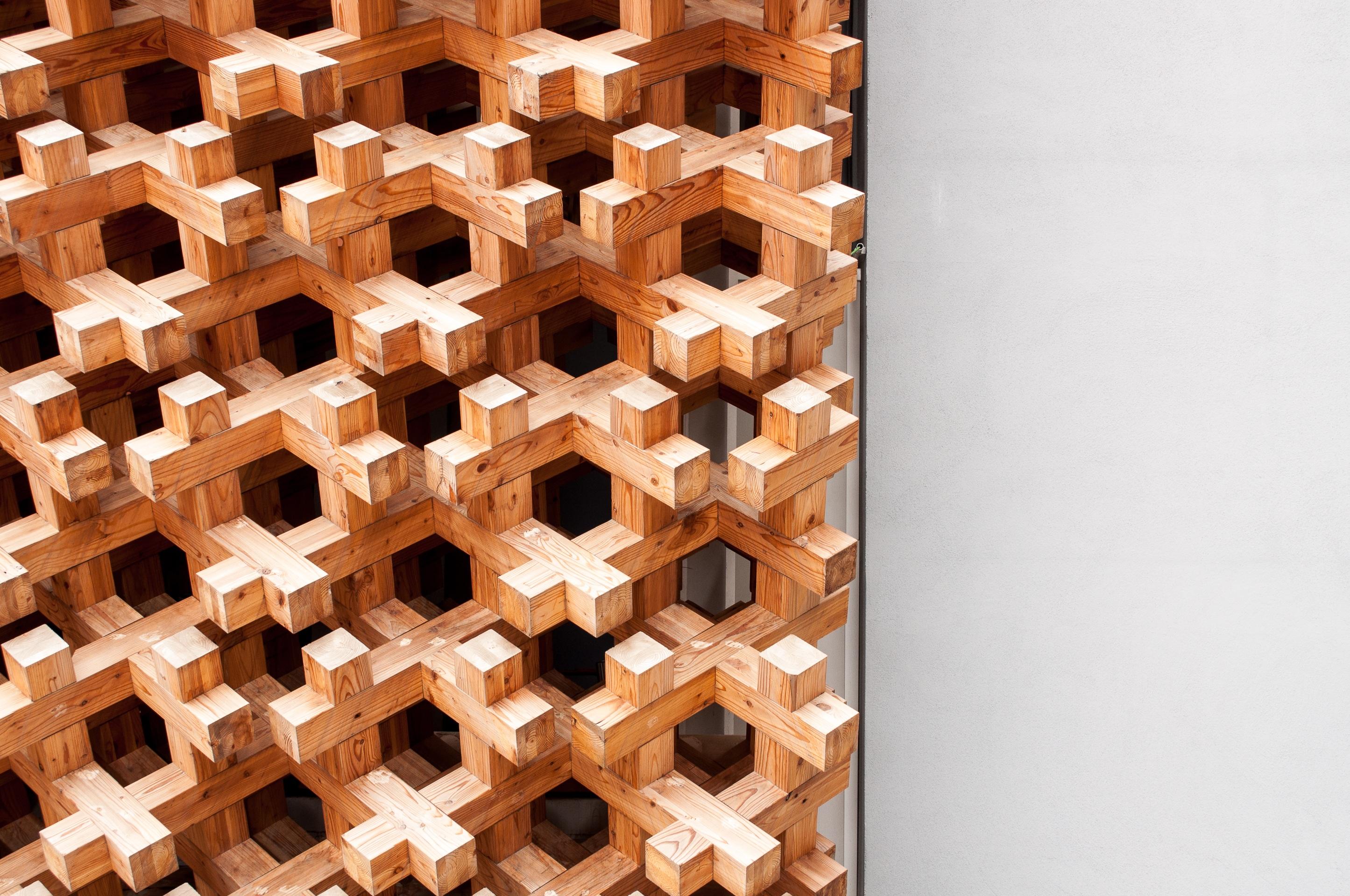 Wood Texture Floor Wall Pattern Brown Tile Japan Brick Material Circle Interior Design Art Shadows