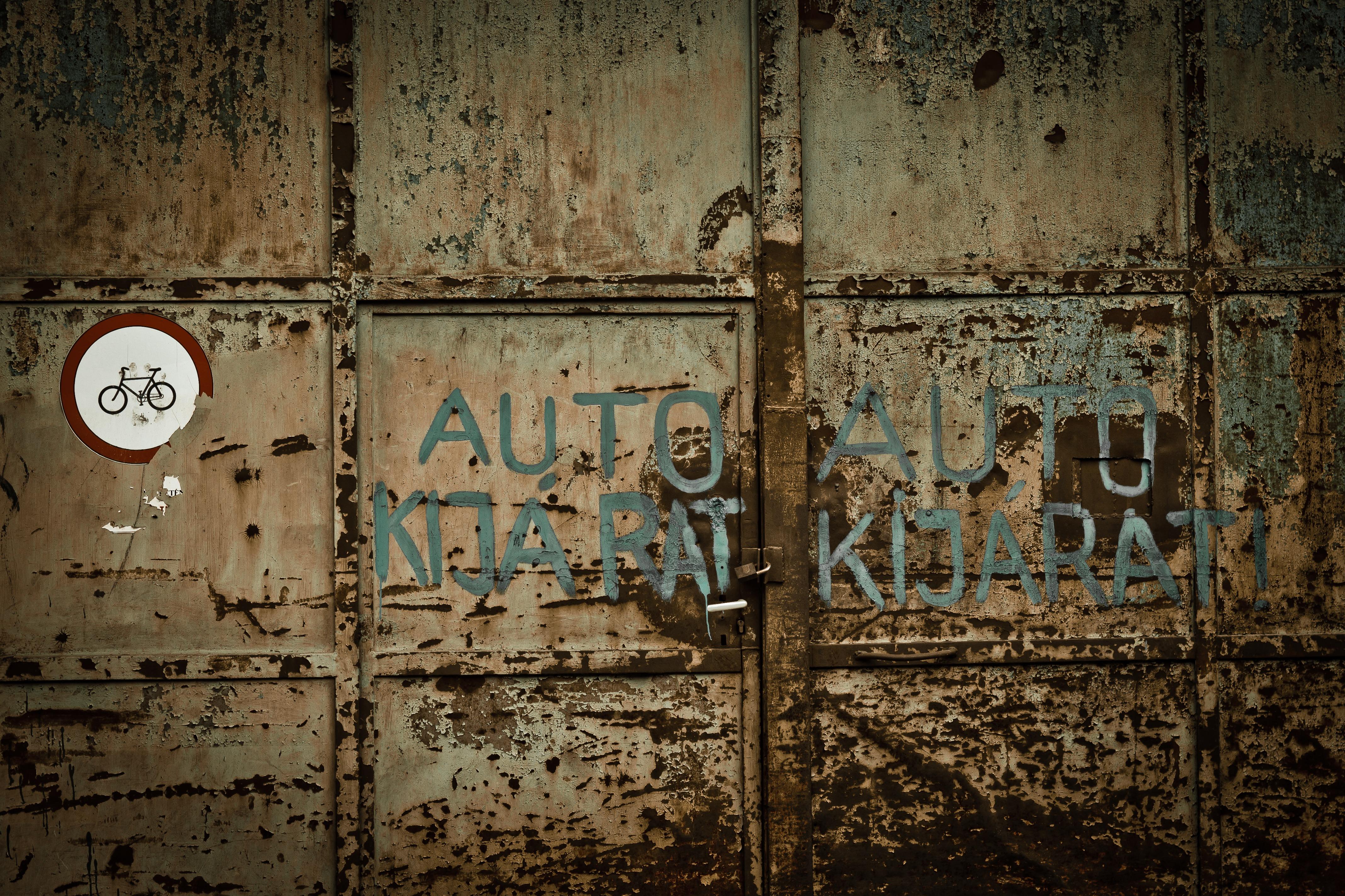 modern door texture. Wood Texture Old Wall Rust Exit Color Garage Graffiti Door Painting Art Budapest Iron Modern