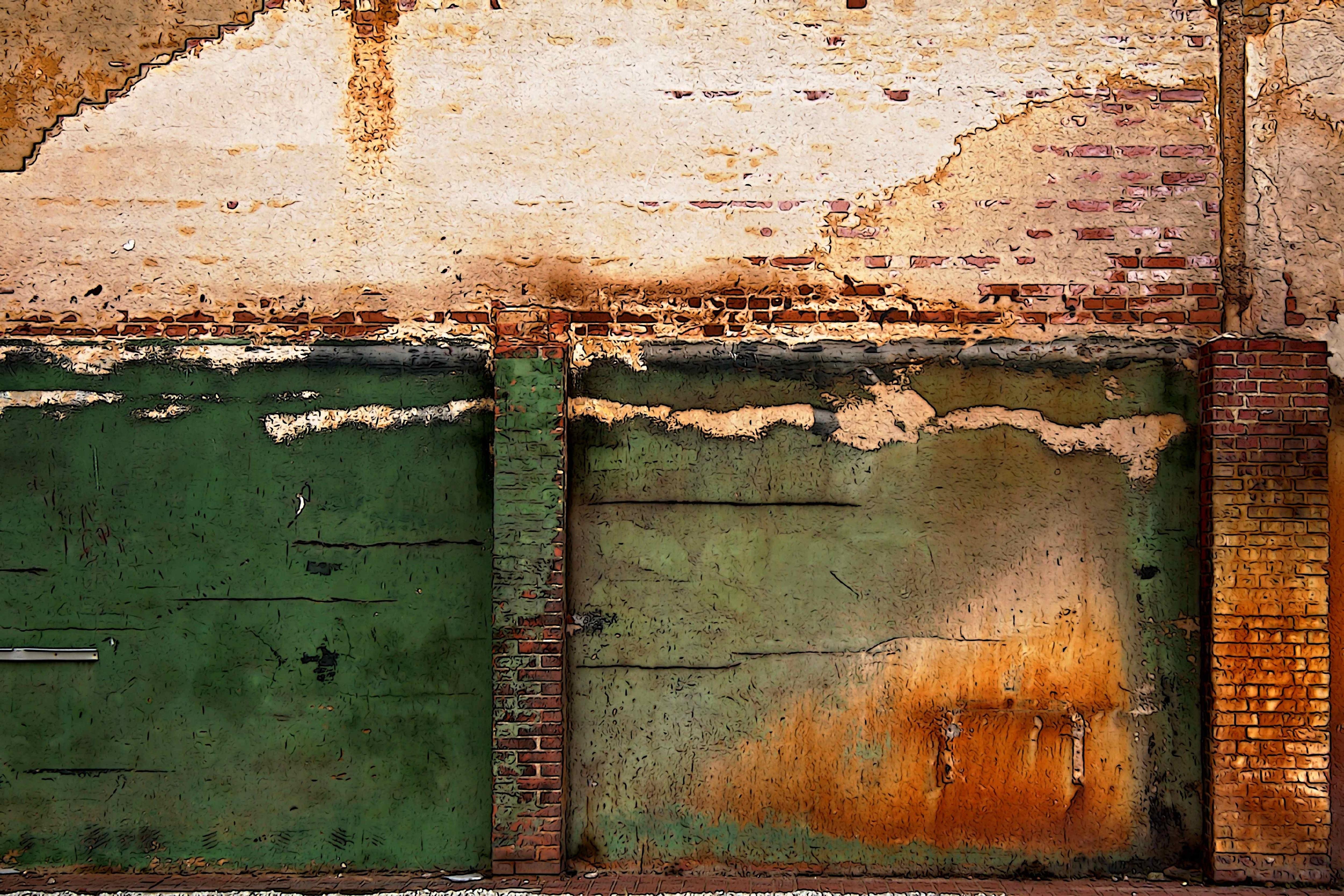 Images Gratuites Bois Texture Fenêtre Mur Rouille Couleur