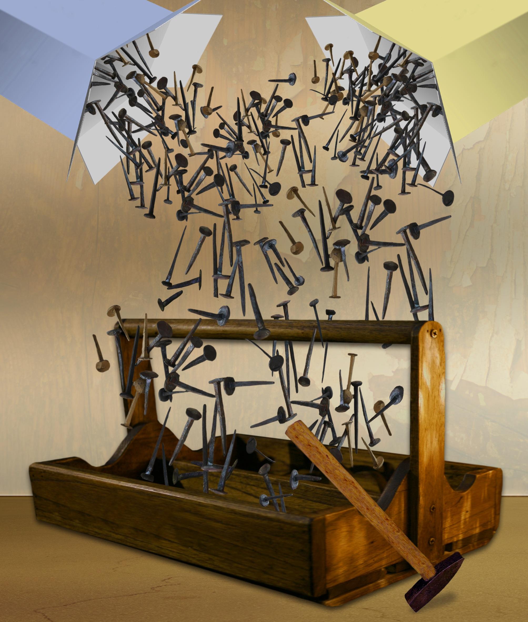 Kostenlose foto : Holz, Werkzeug, Hammer, Box, Nagel, Skulptur ...