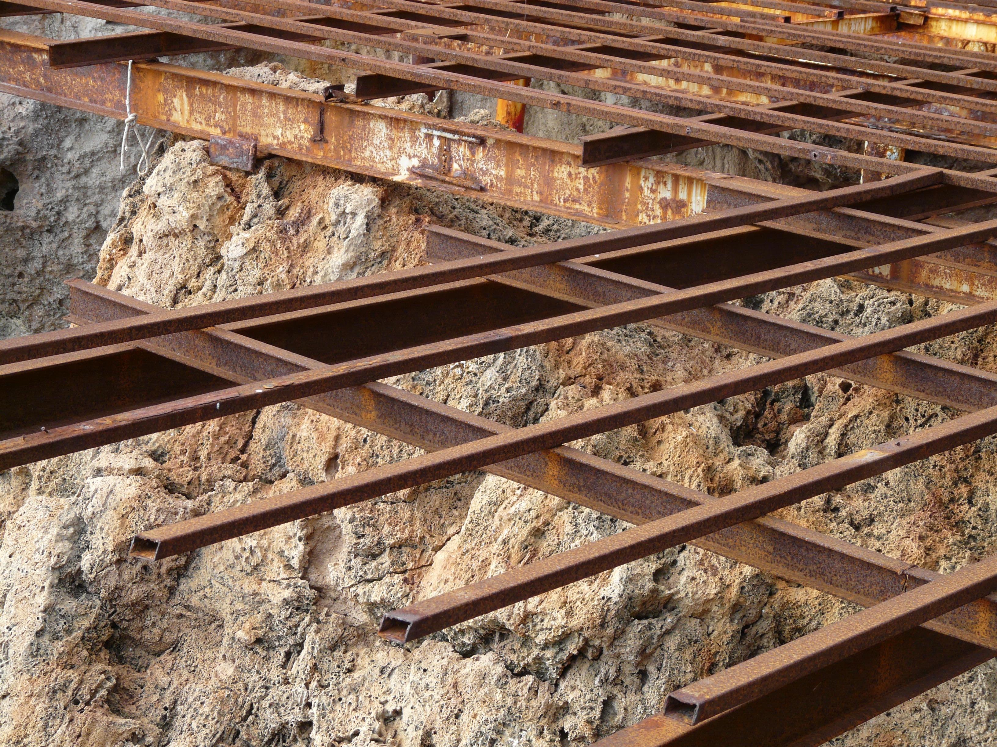 Old Wood Beams ~ Free images wood track floor old beam metal lumber
