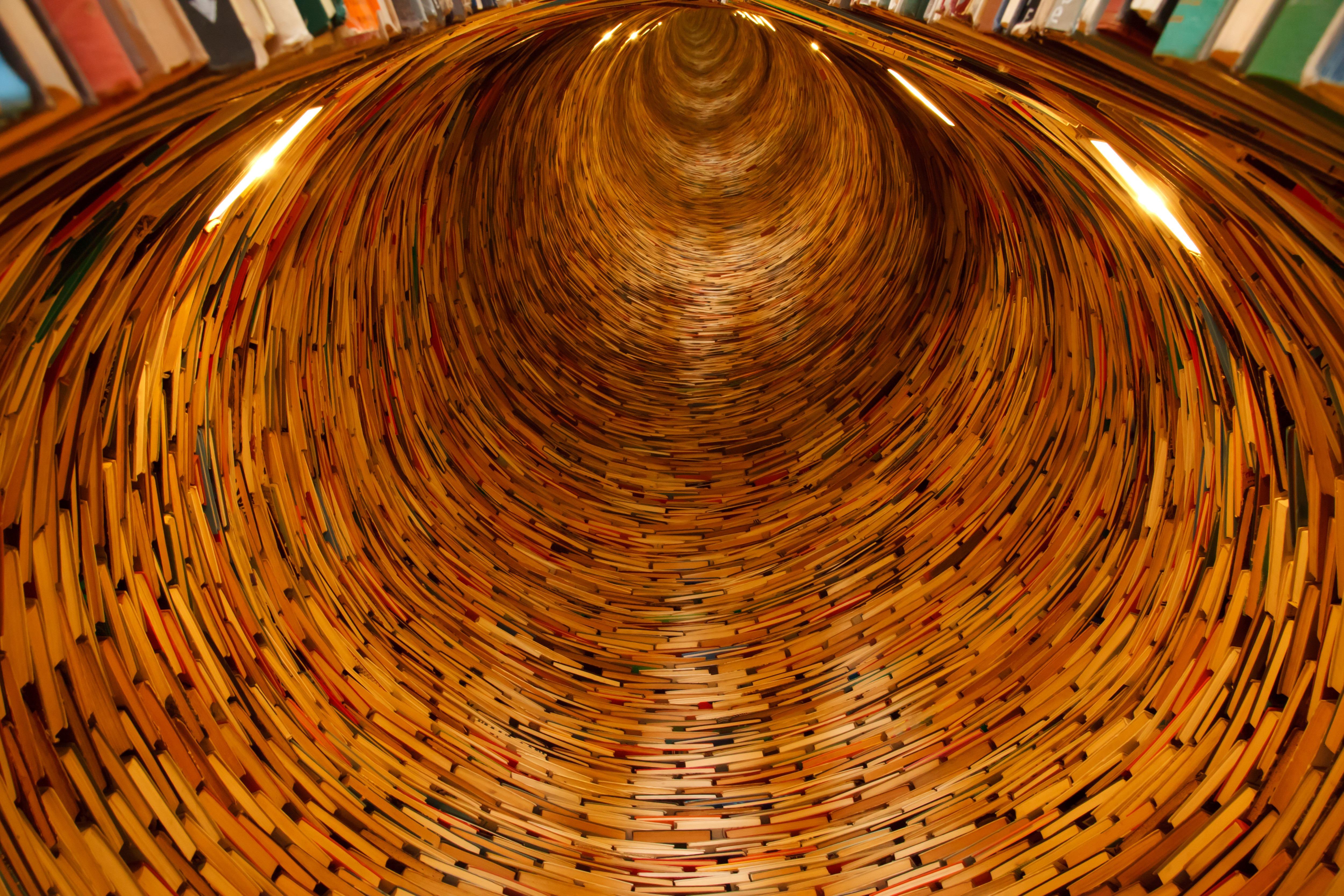 Fotos Gratis Madera Túnel Leyendo Interminable Circulo