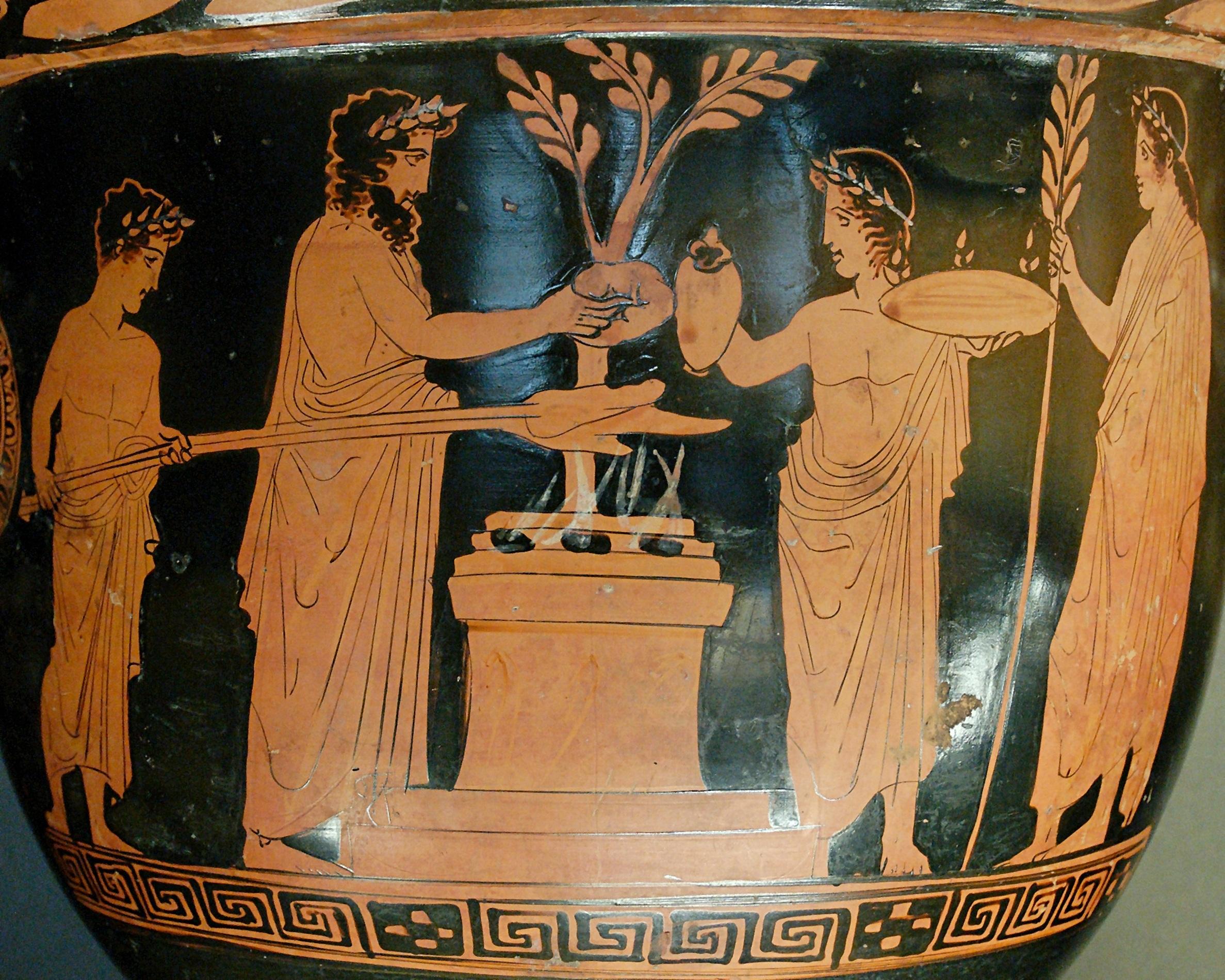 Открытки древняя греция, для жены добрым