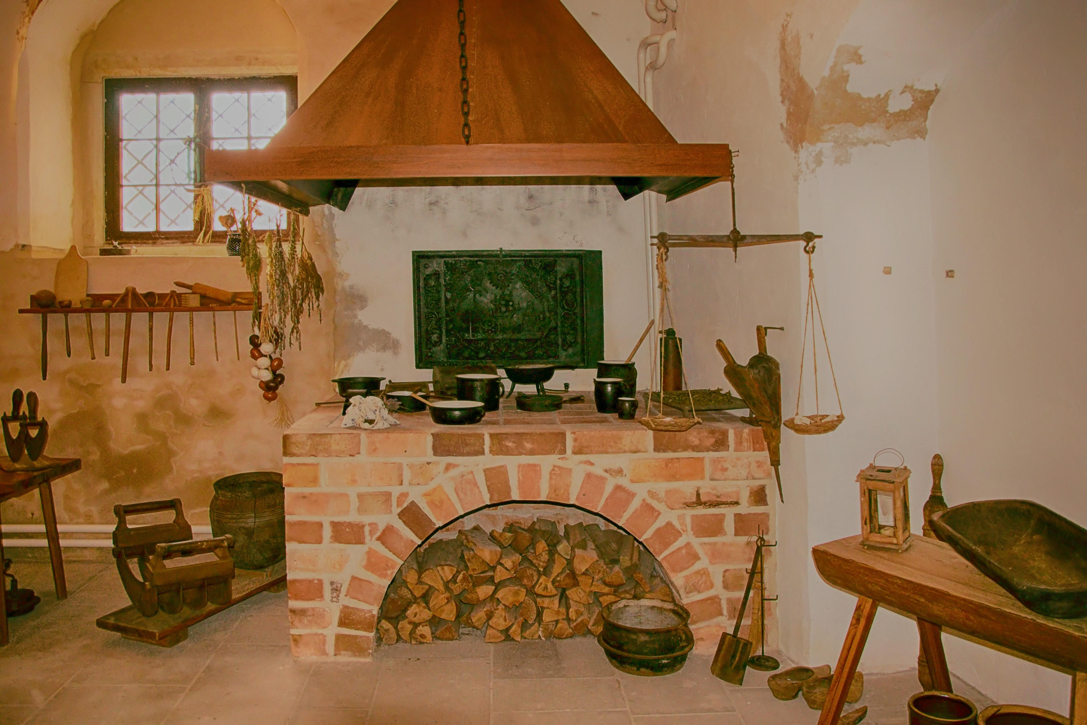 Kostenlose foto : Holz, Villa, Haus, Zuhause, Museum, Hütte, Küche ...