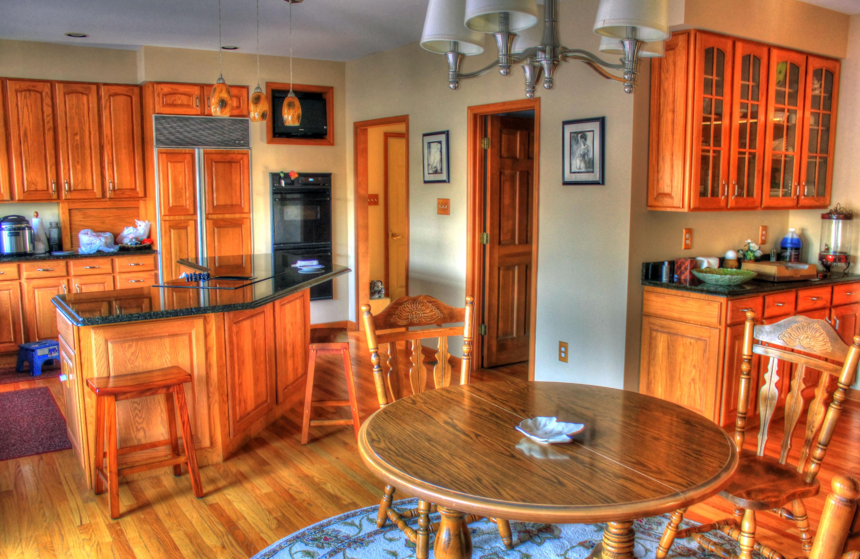 Fotos gratis : villa, palacio, interior, mostrador, cabaña, cocina ...