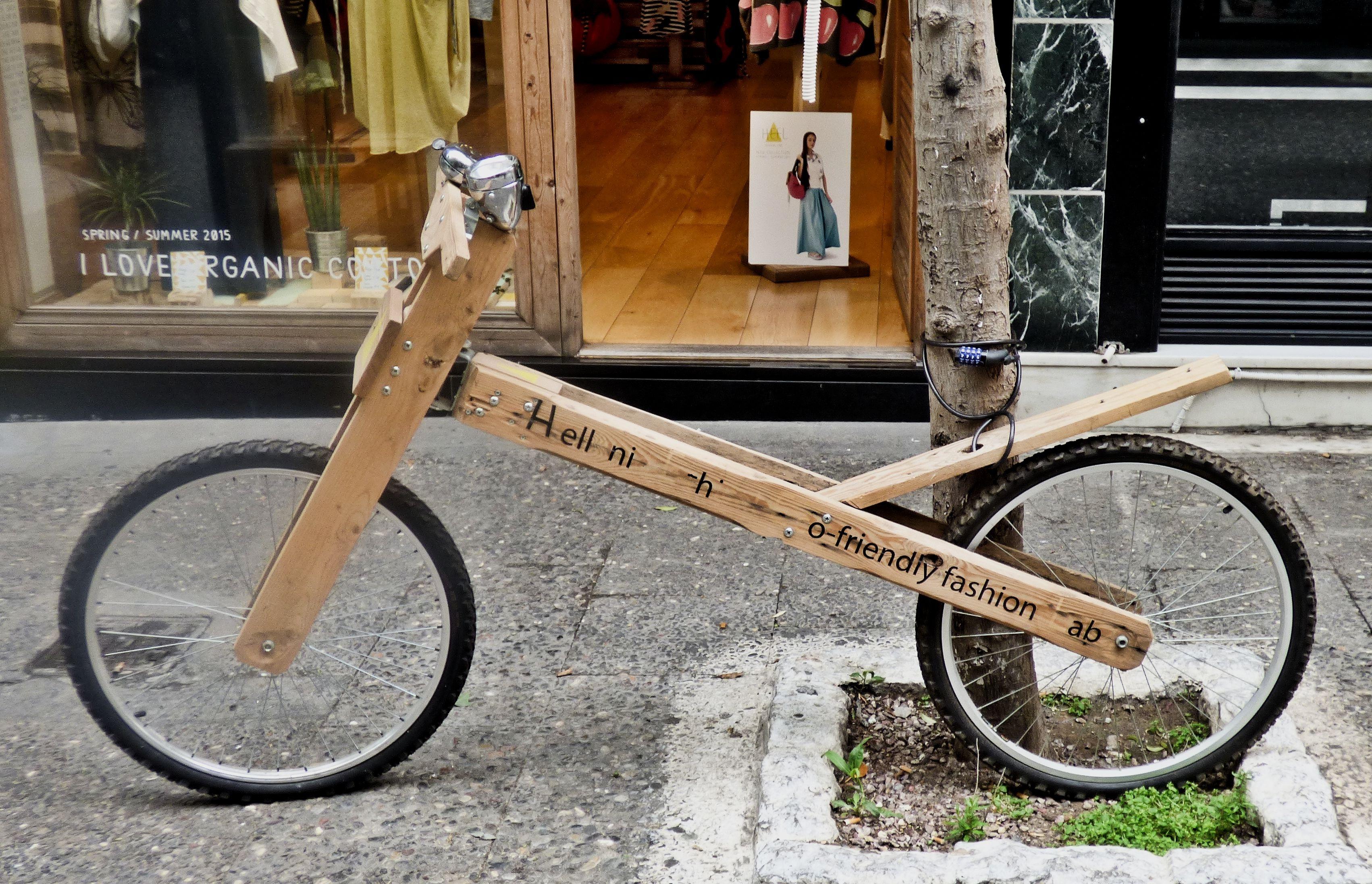 Kostenlose foto : Holz, Jahrgang, Rad, Retro, Stadt, Reise ...