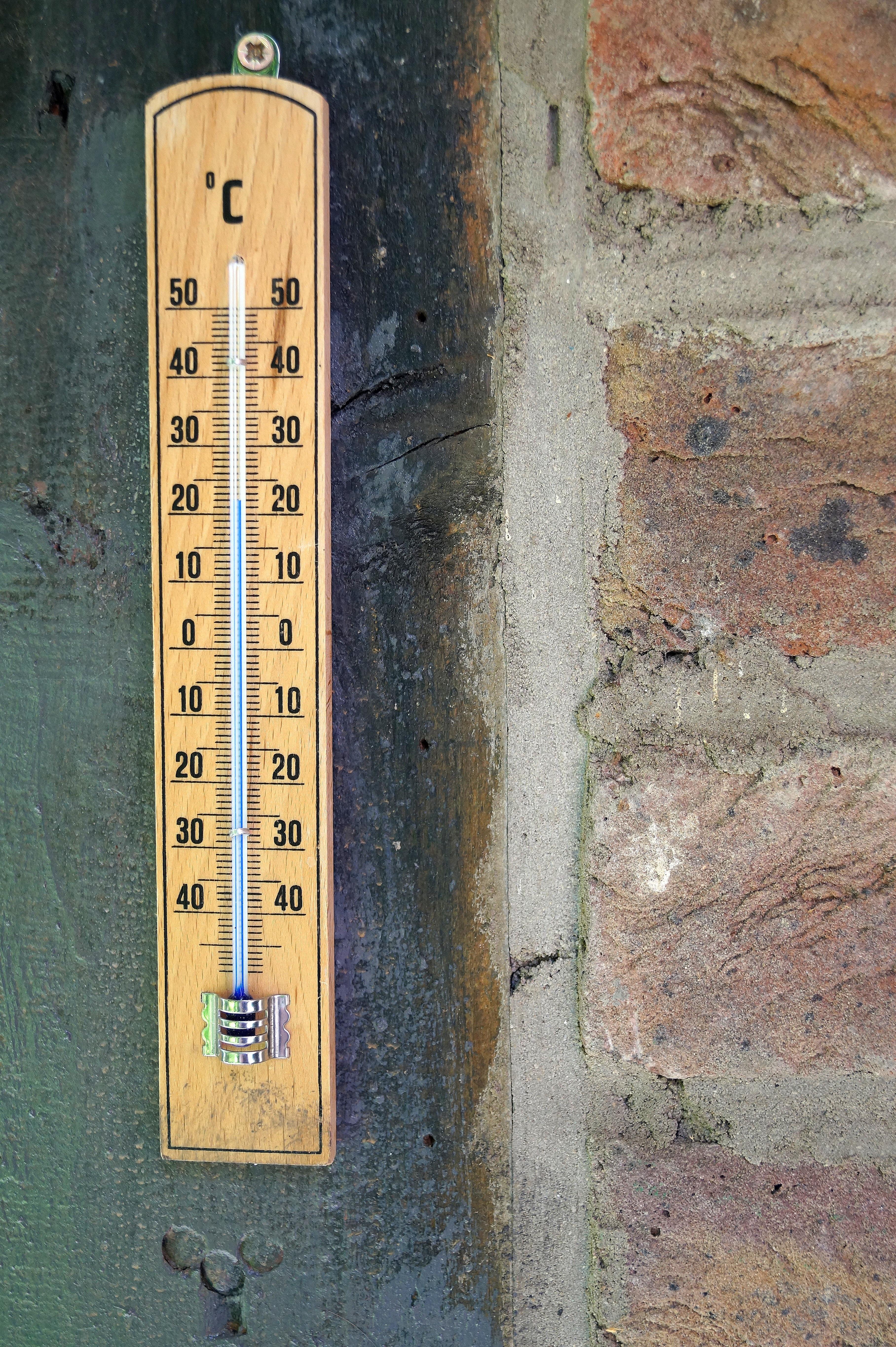 Fotos gratis pared escala term metro temperatura - Termometro de pared ...