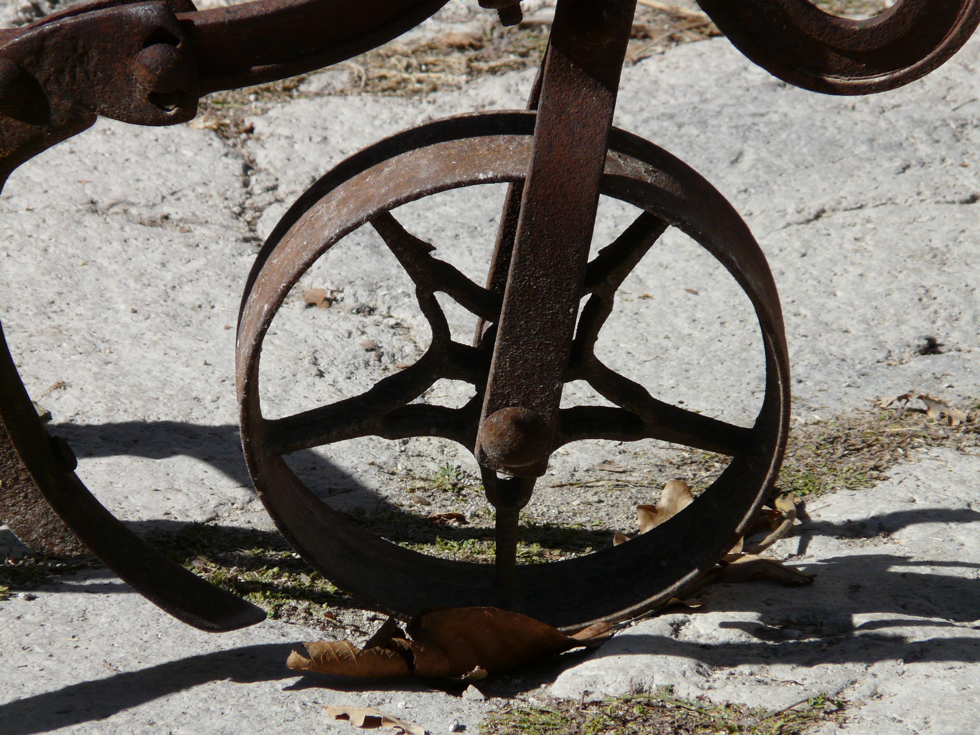Kostenlose foto  Holz Rad Fahrrad Fahrzeug Metall Material
