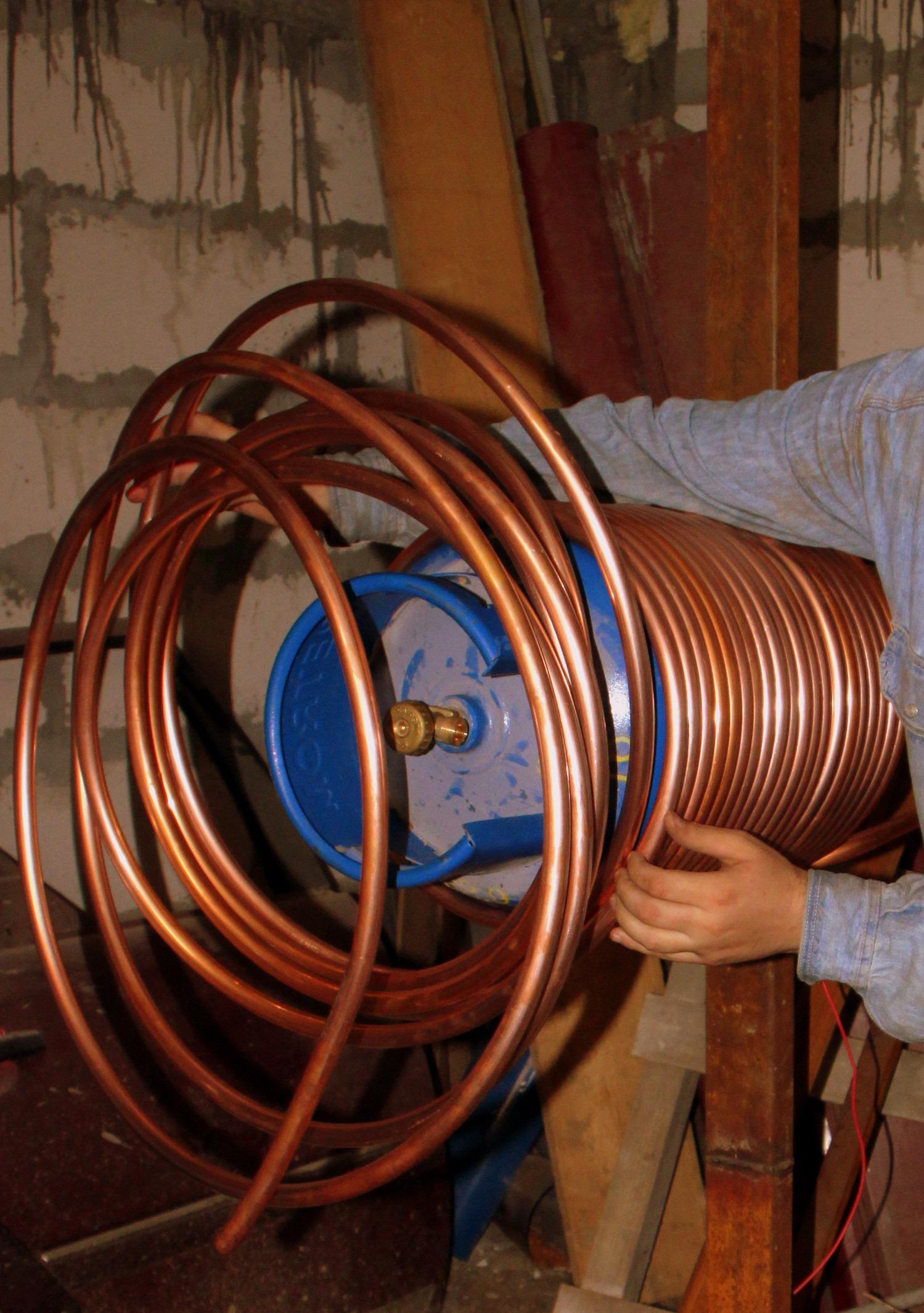 Kostenlose foto : Holz, Rad, Tube, Spule, Produkt, Rohr, Kupfer ...