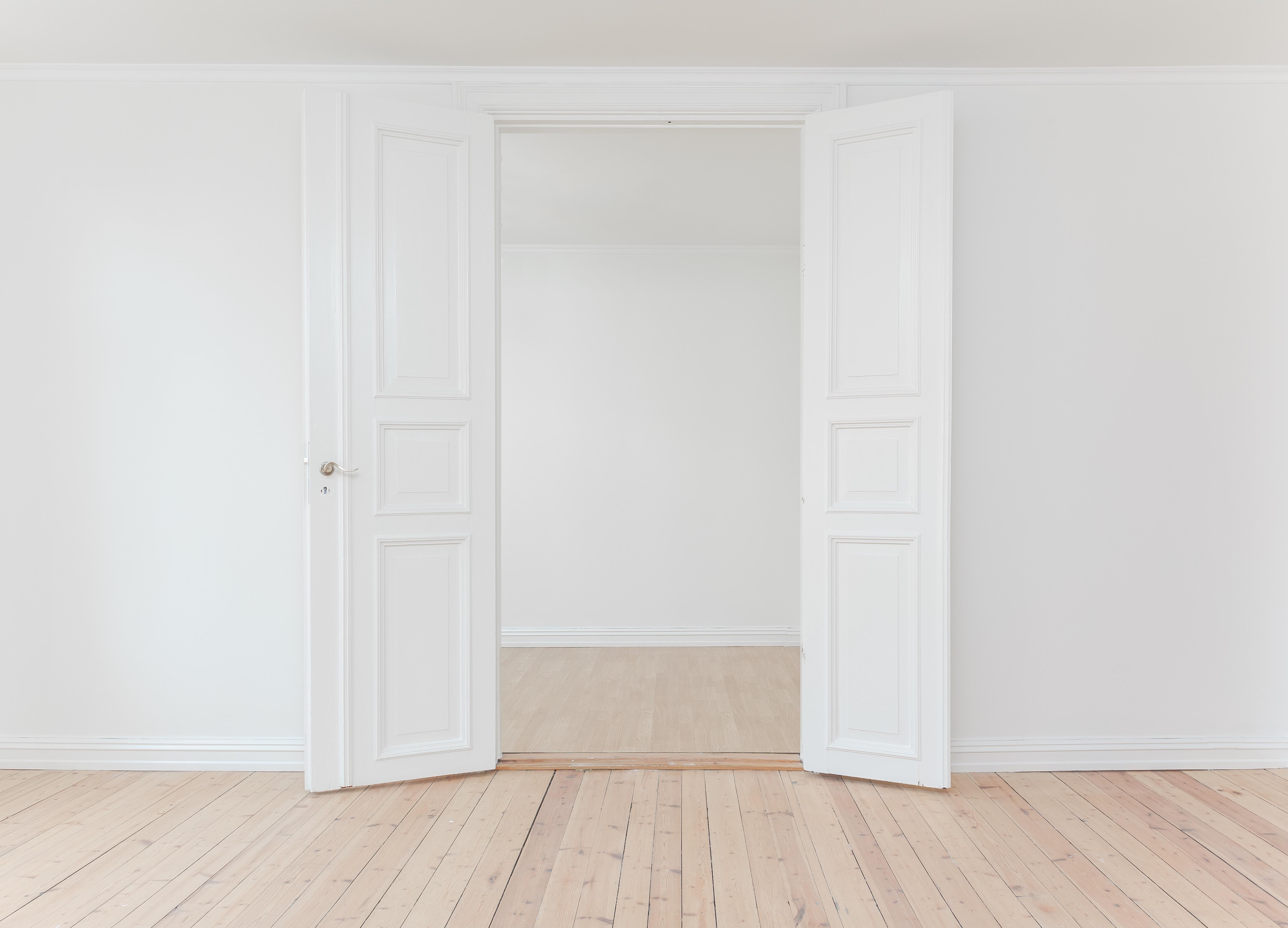 Fotos gratis : blanco, piso, interior, vacío, mueble, habitación ...