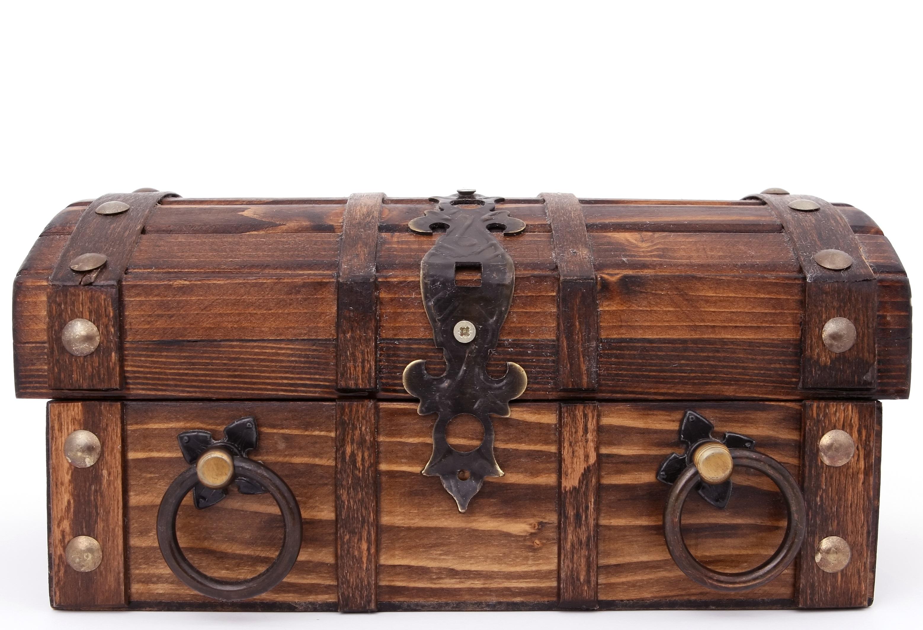 Kostenlose Foto Holz Weiss Leder Kofferraum Isoliert Geschaft