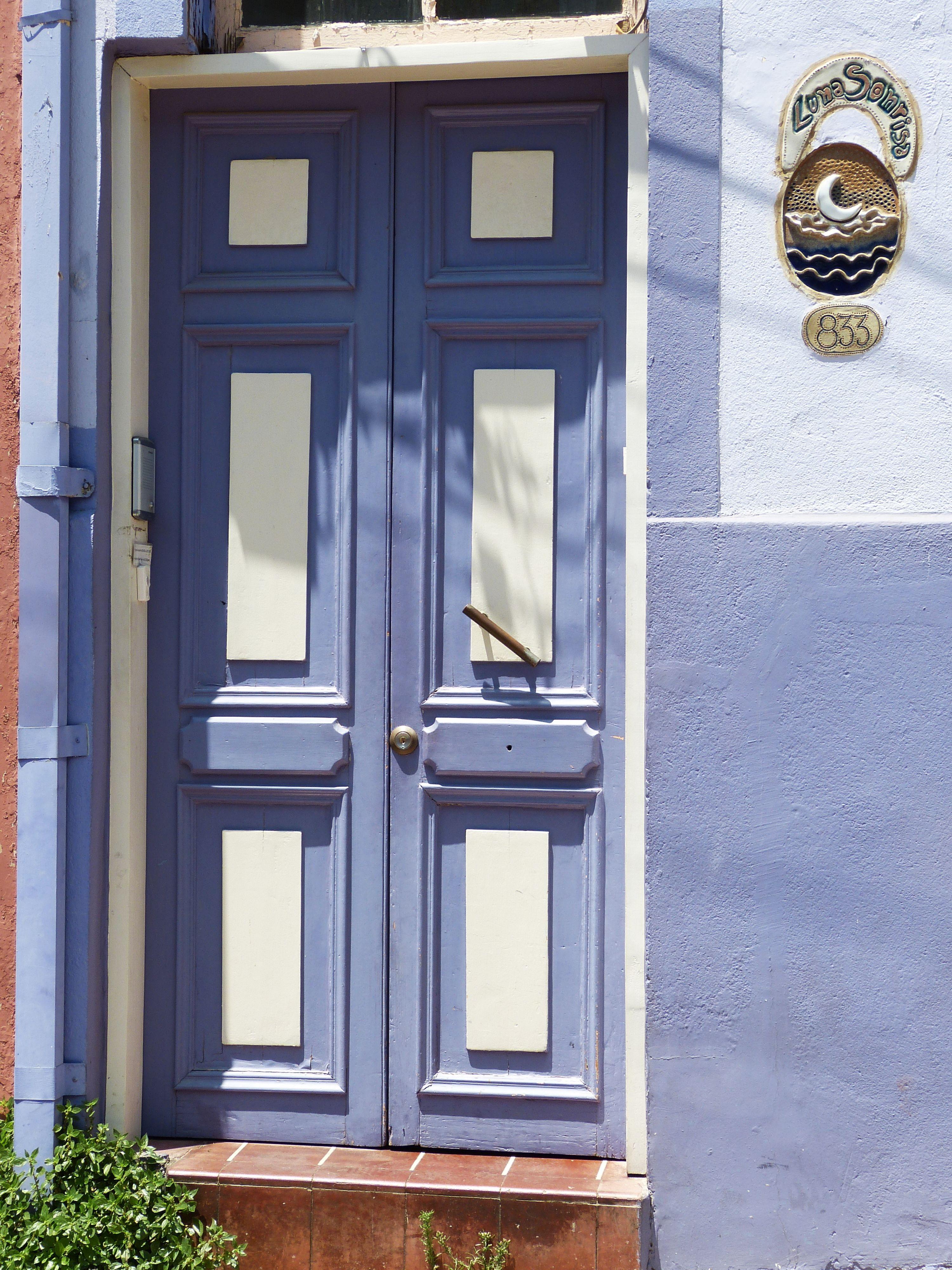 Favori Images Gratuites : bois, fenêtre, façade, bleu, objectif, Chili  HV28