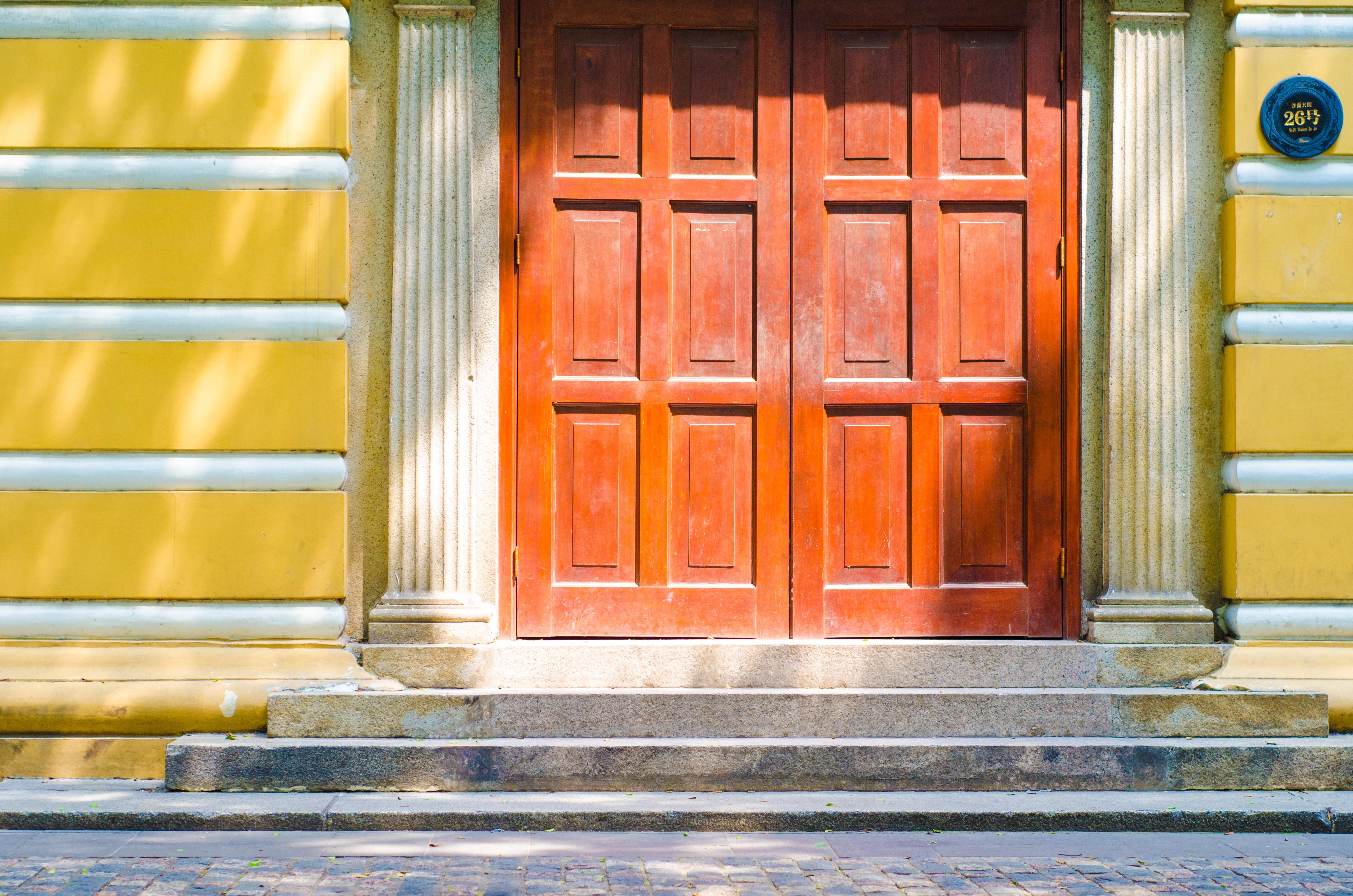 wood window facade furniture door interior design window covering
