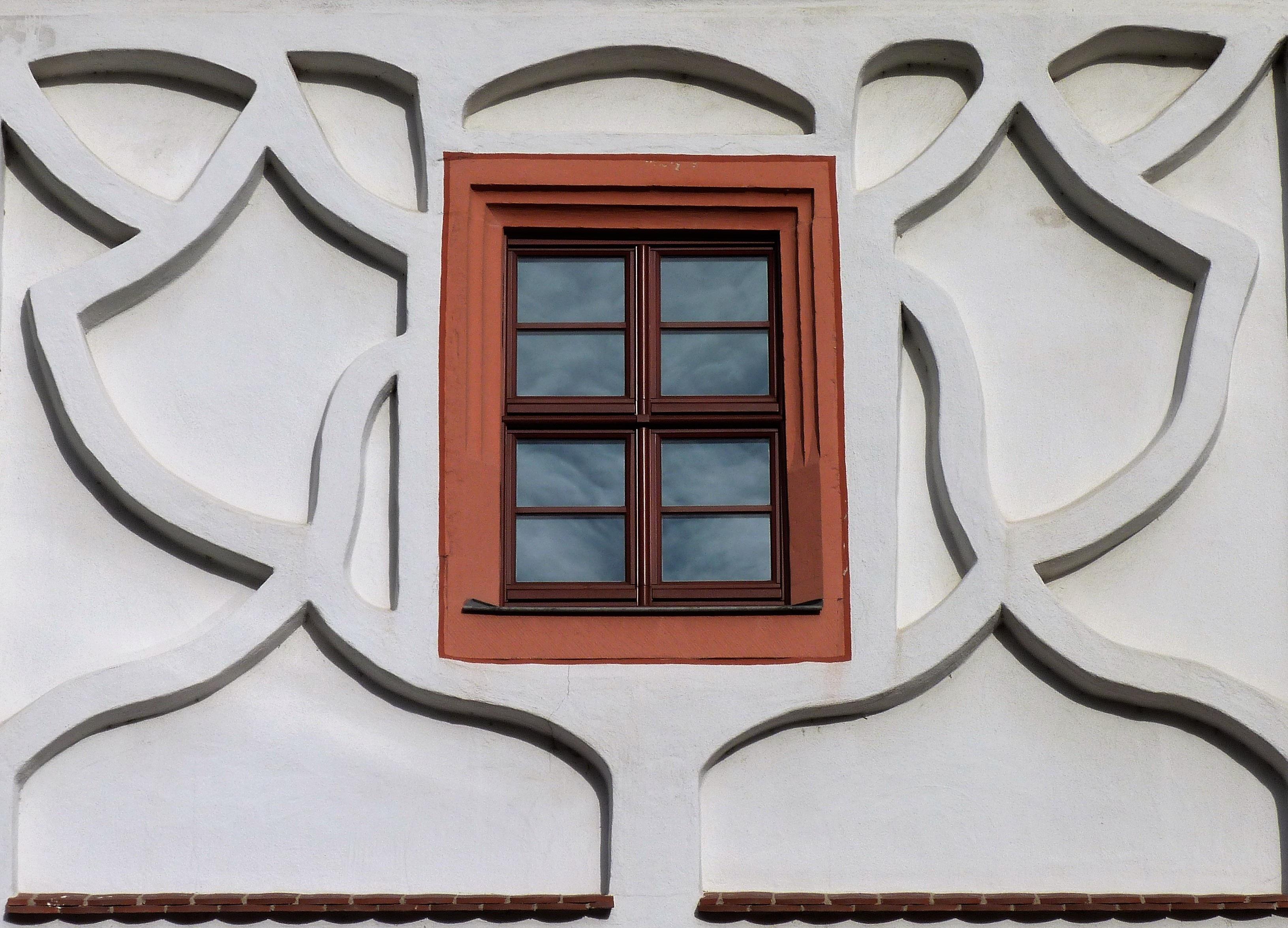 Fotos gratis : ventana, vaso, fachada, circulo, art, diseño ...