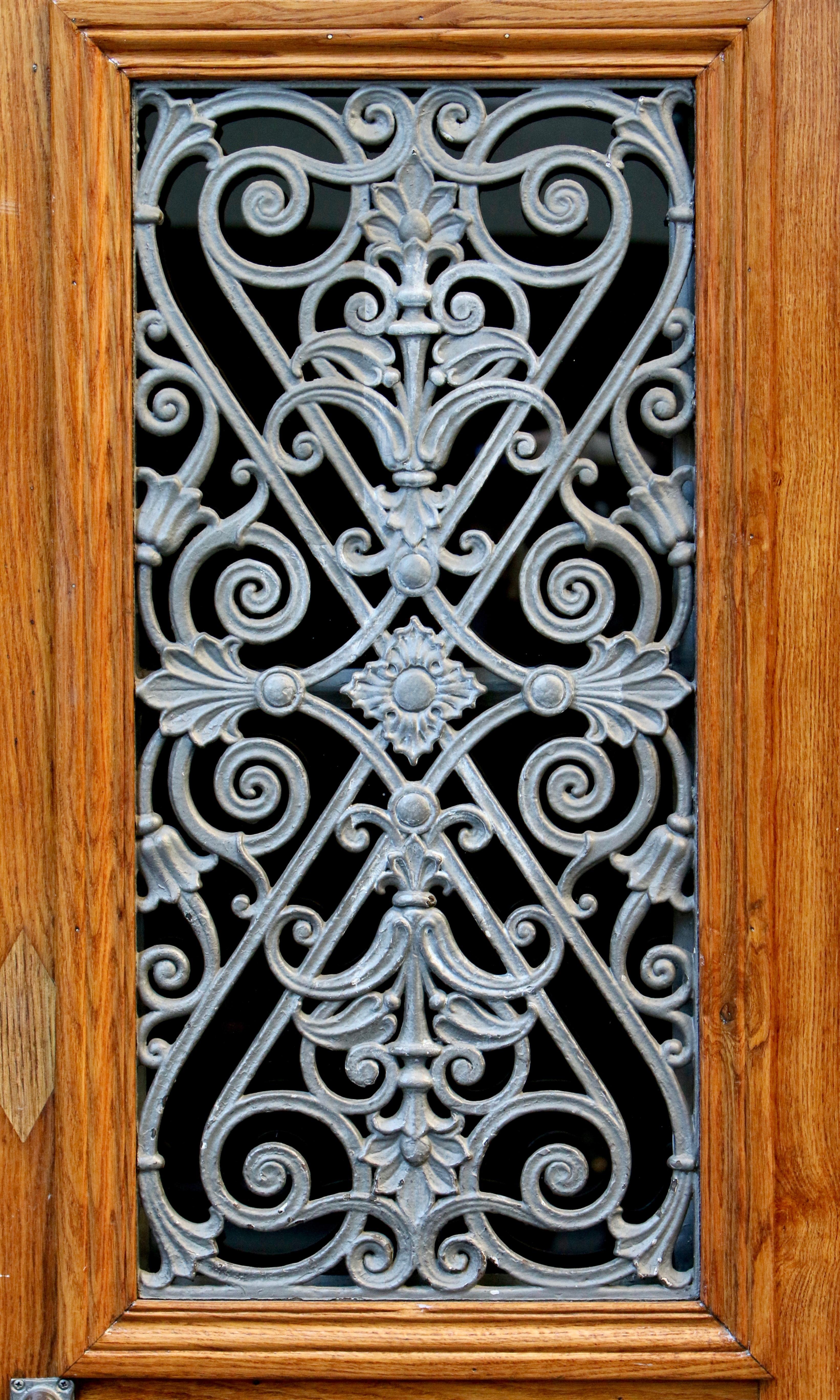 Fotos gratis : ventana, vaso, patrón, metal, portón, puerta ...