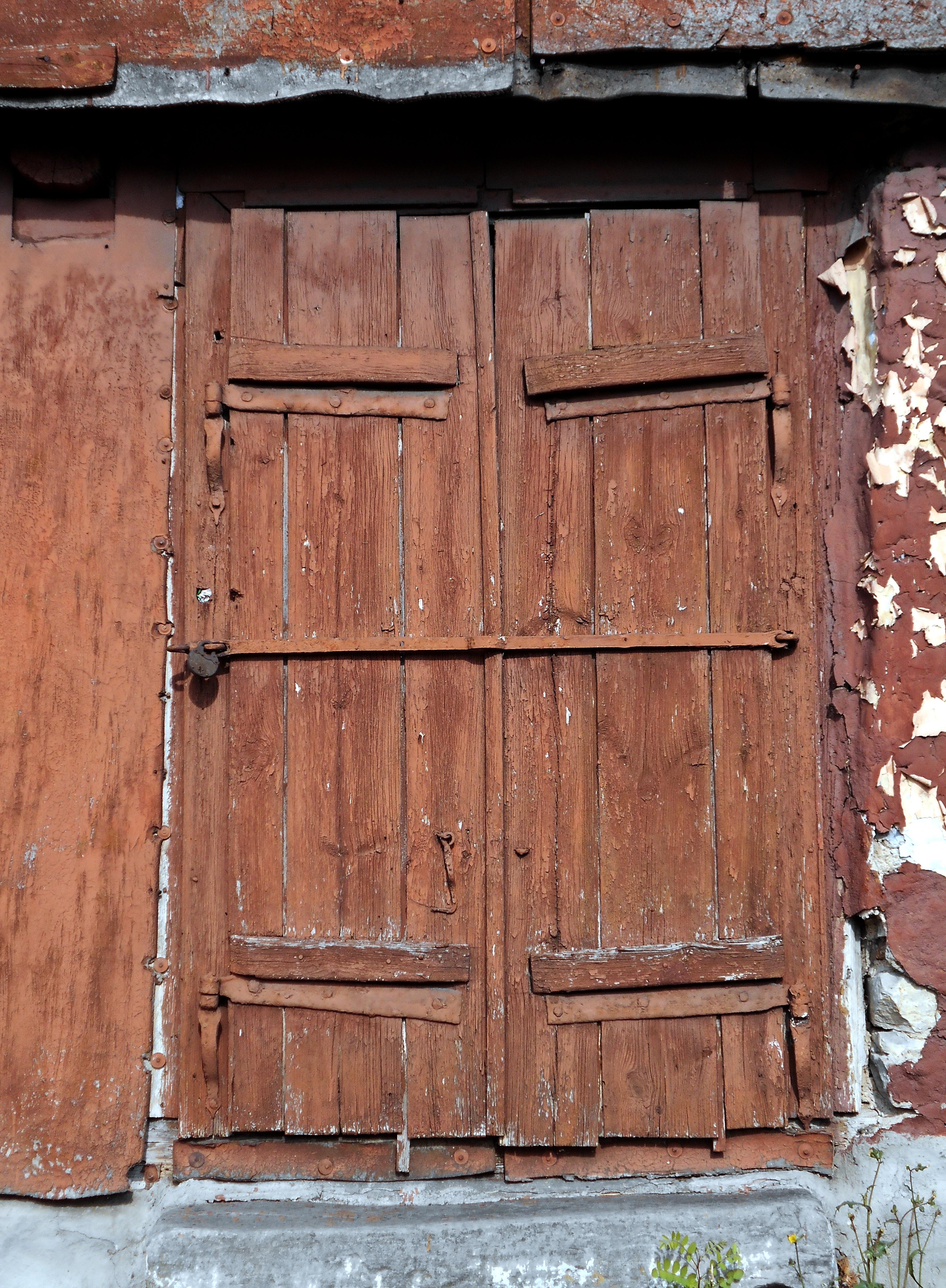 Fotos gratis : ventana, pared, cobertizo, Entrada, fachada, ladrillo ...