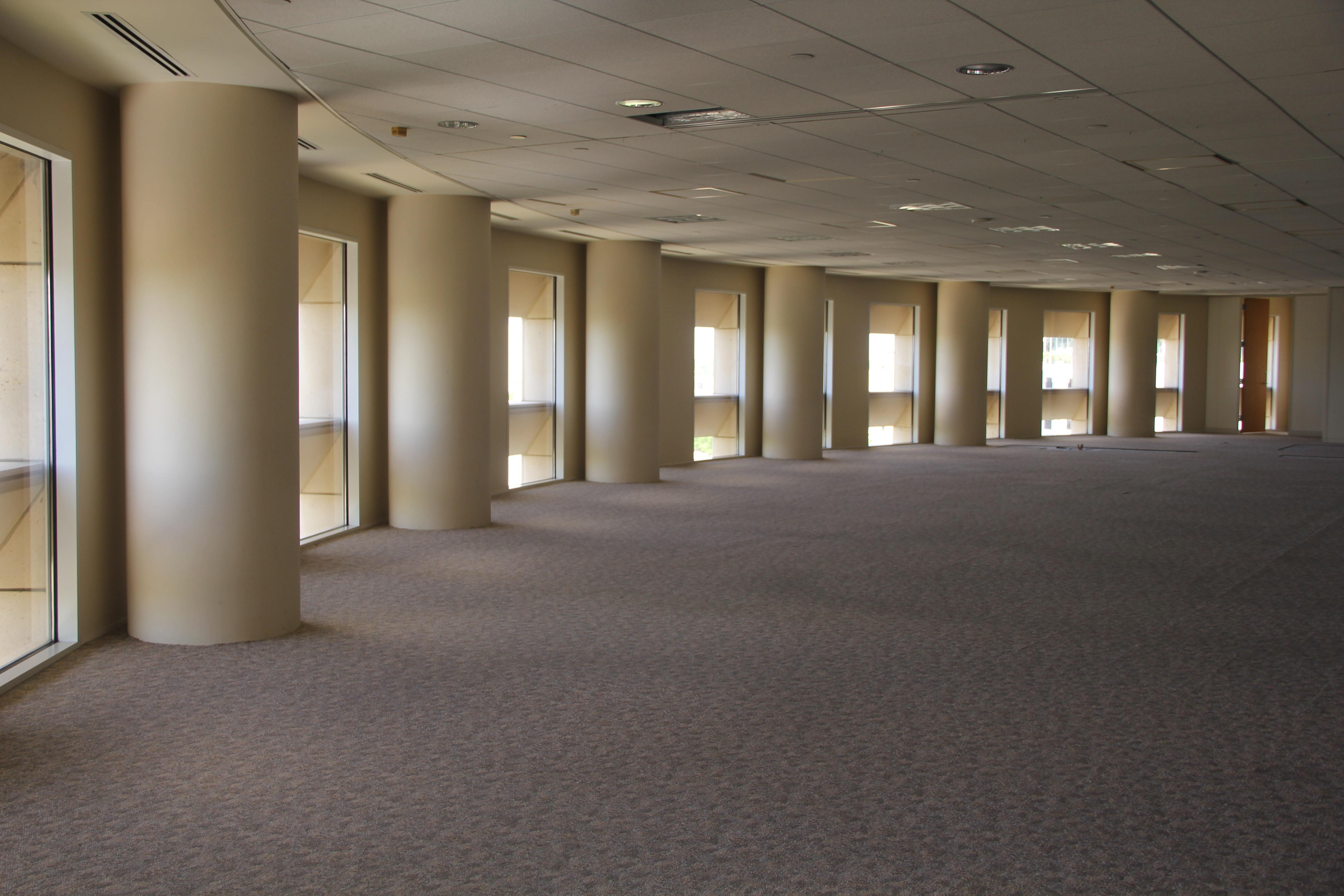 floor lighting hall. Work Architecture Floor Ceiling Hall Corporate Office Empty Business Lighting Interior Design Estate Lobby Headquarters Flooring