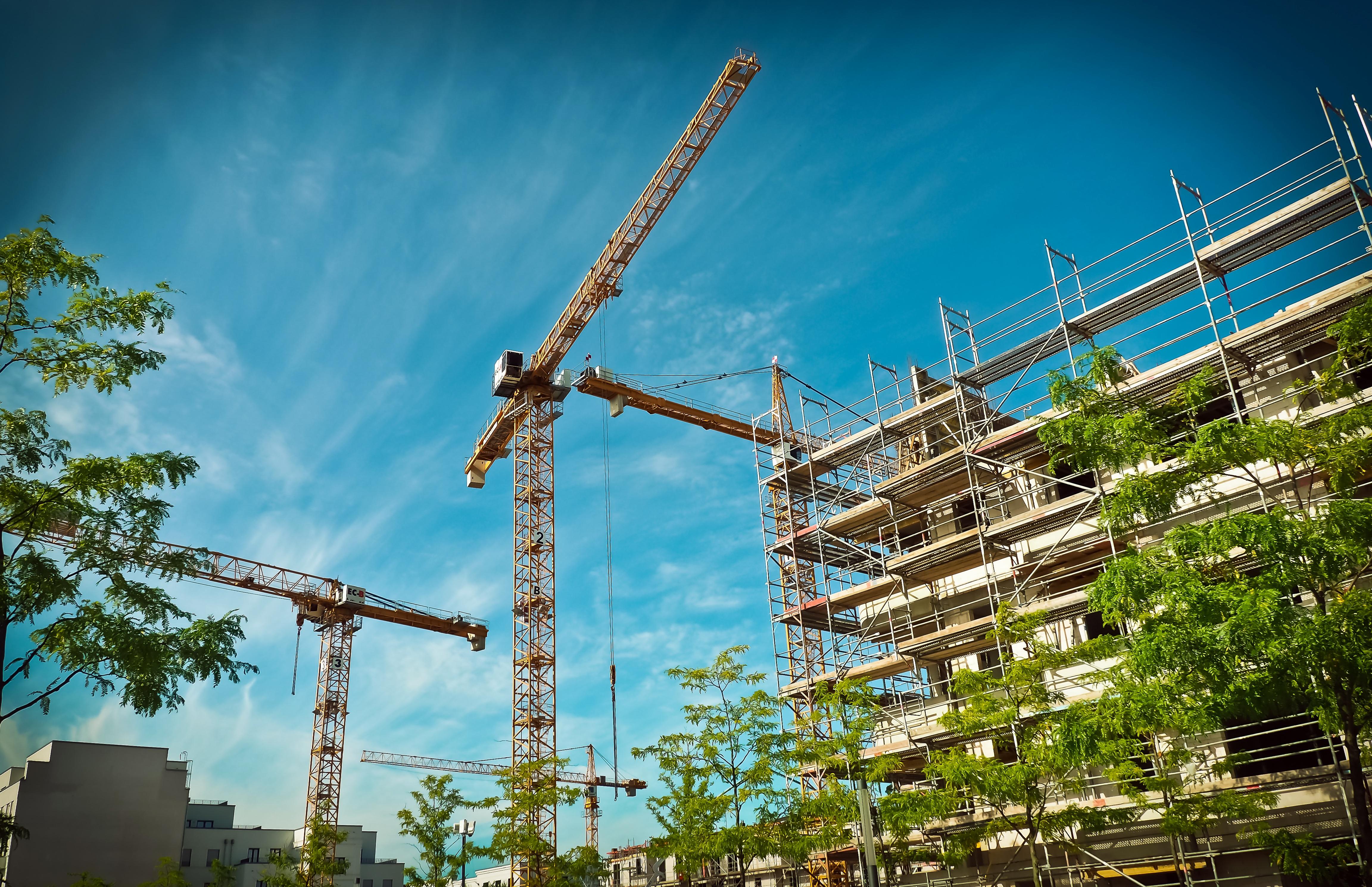Картинки строительства здания