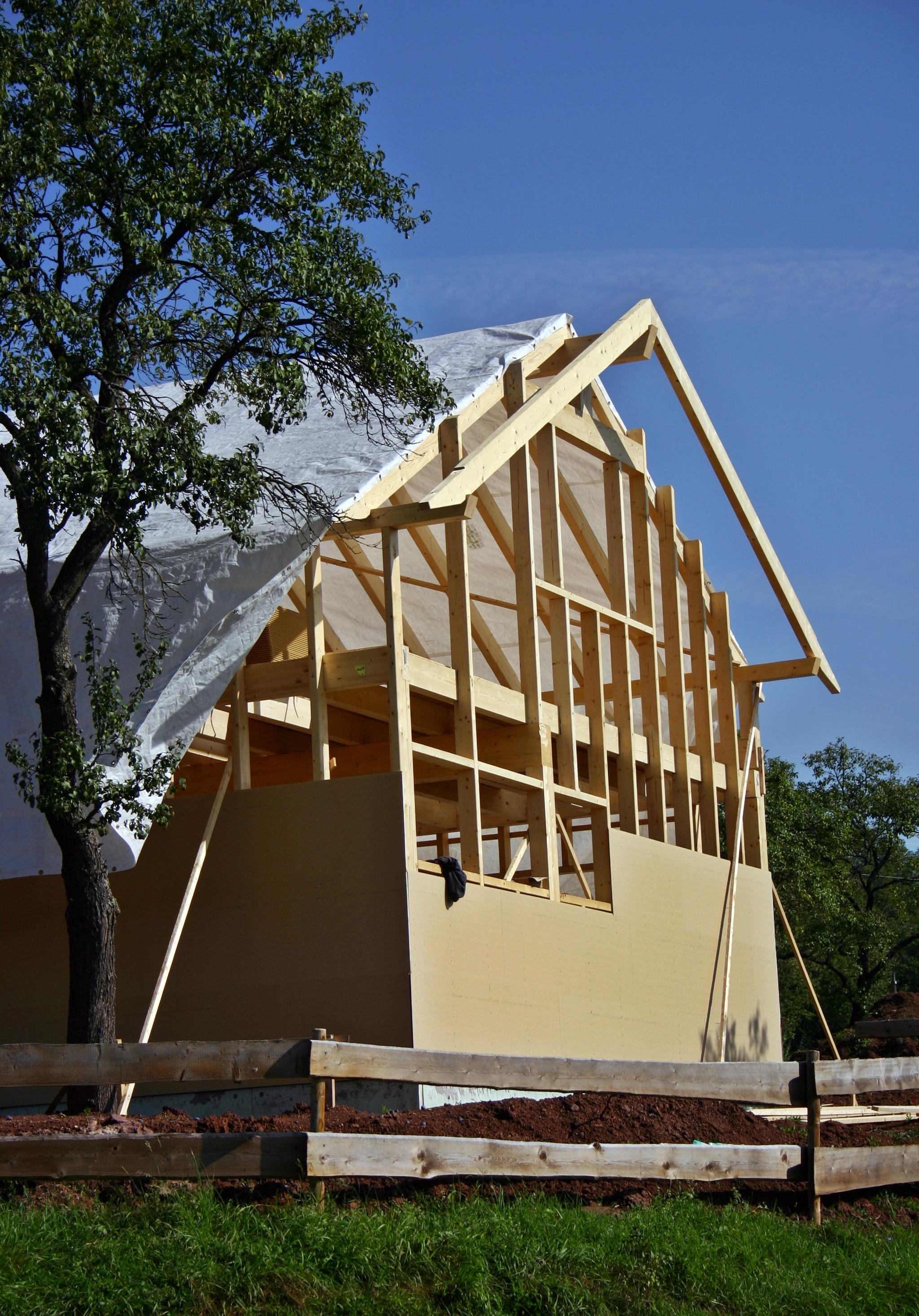 kostenlose foto : arbeit, die architektur, holz, haus, dach, zuhause