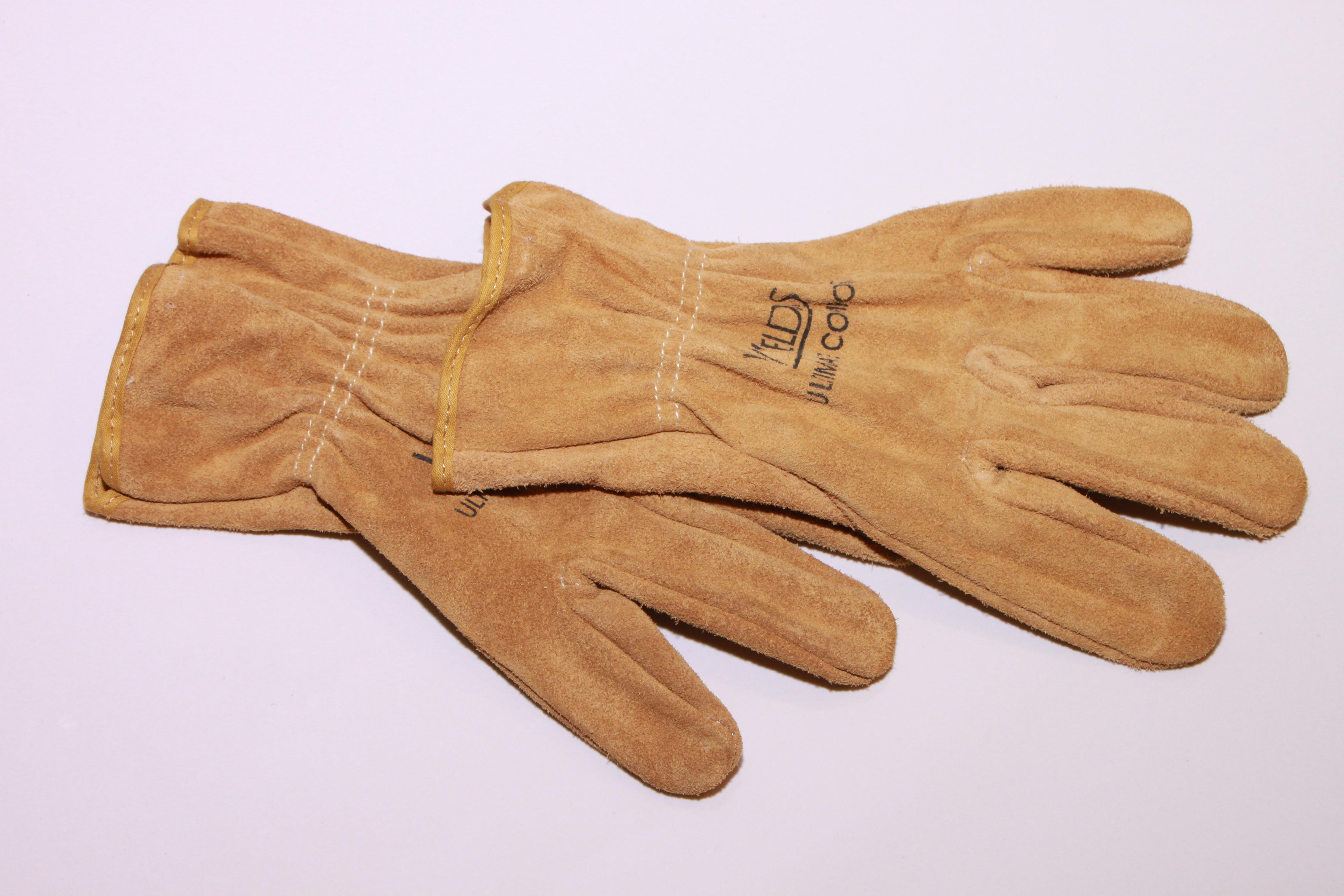 kerja tangan kayu sarung tangan kulit jari keamanan montir sarung tangan industri rasa fashion aksesori