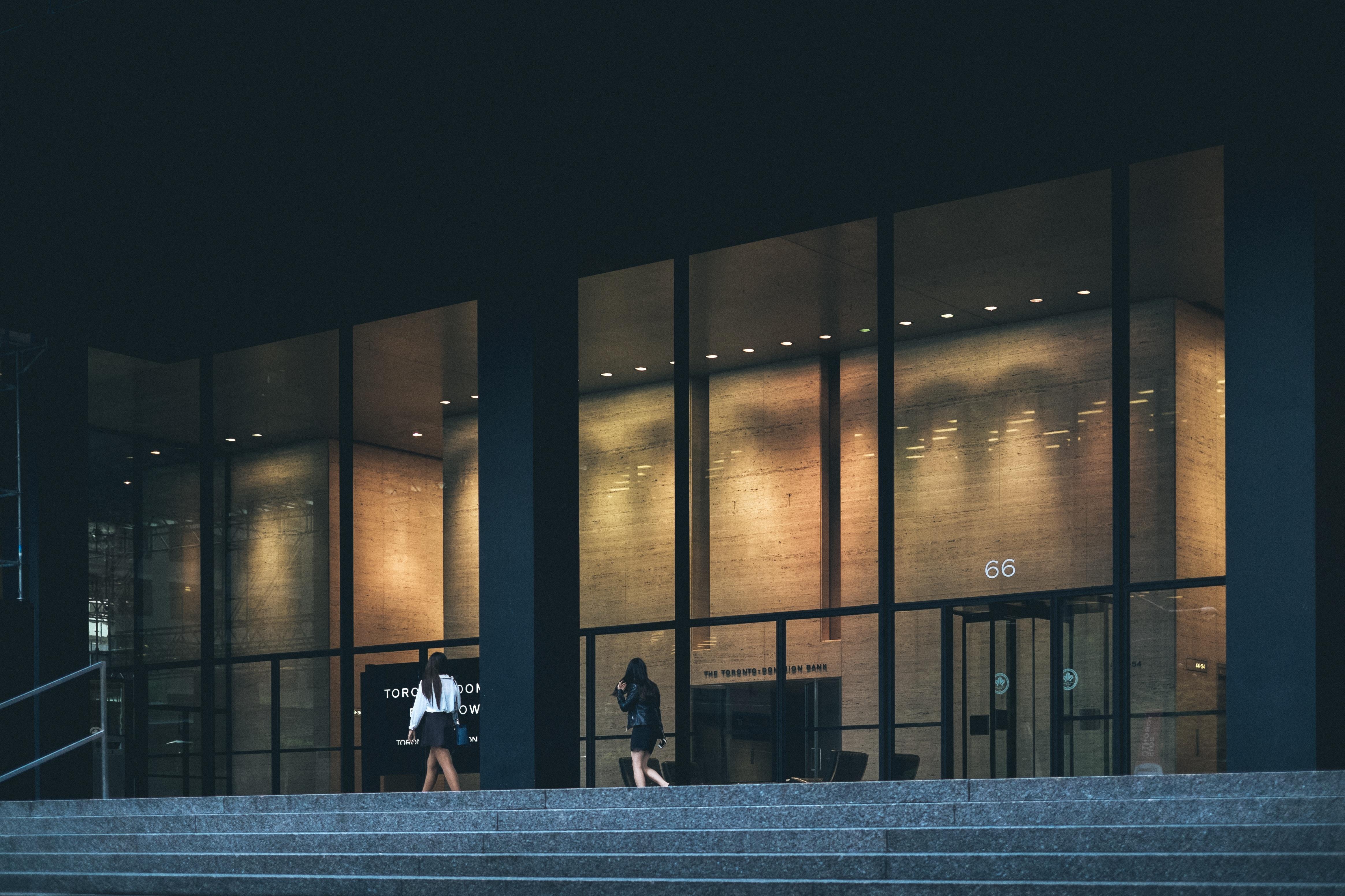 Gambar Kerja Cahaya Arsitektur Malam Bangunan Kota Refleksi