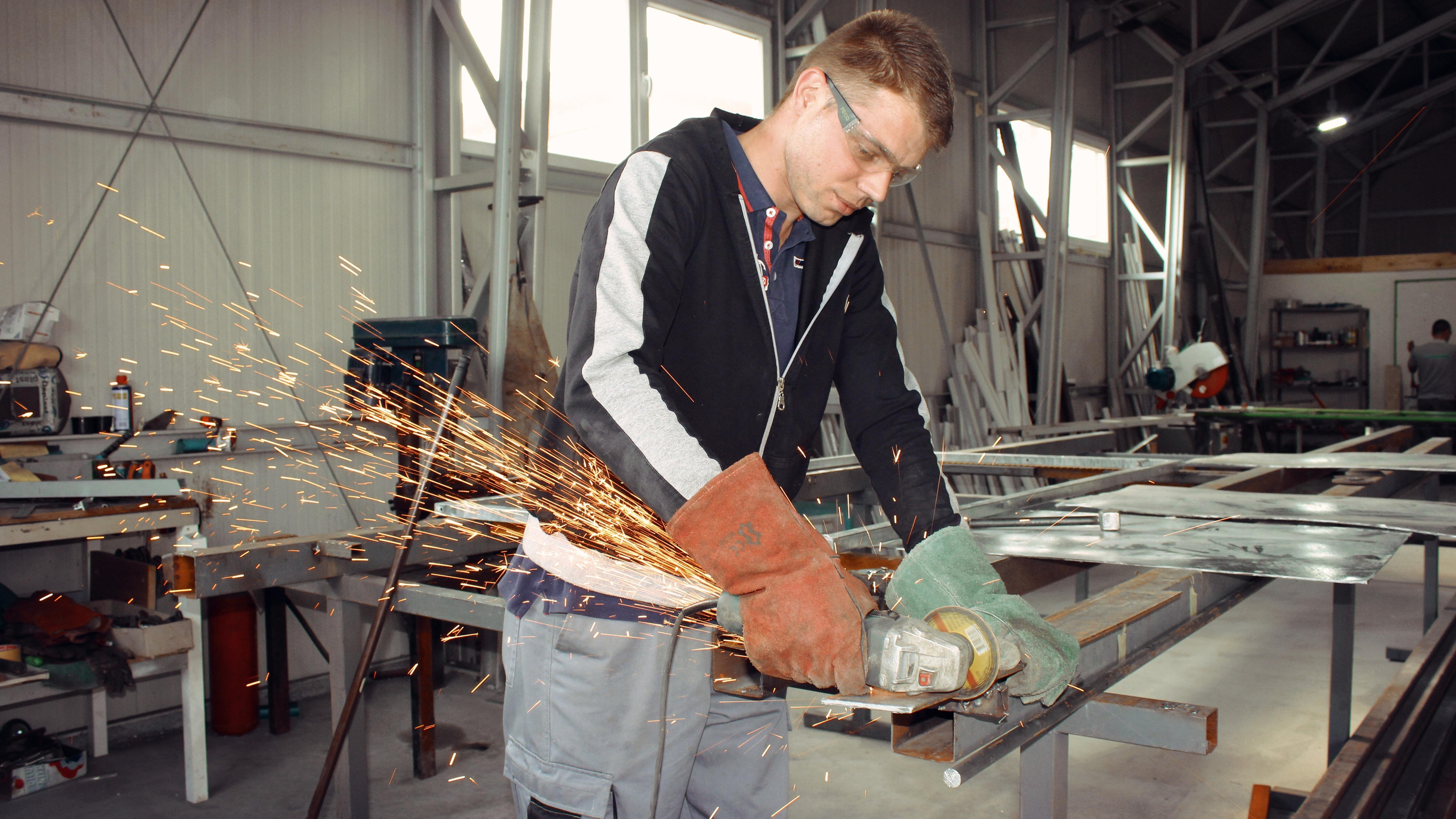 work man tool construction repair industrial industry professional worker art grinder tools job master technician sense