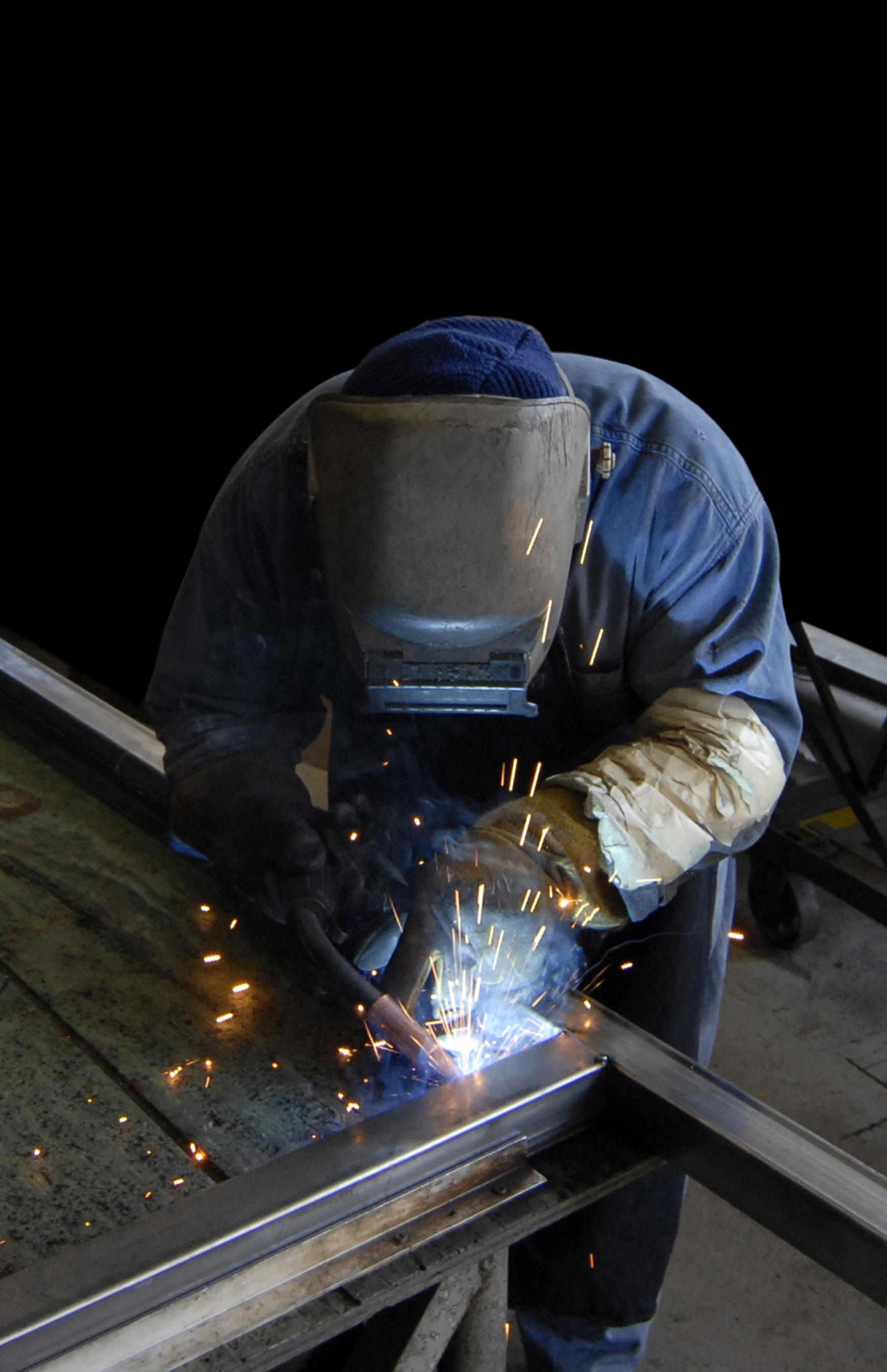 Free Images : work, steel, construction, metal, welding ...