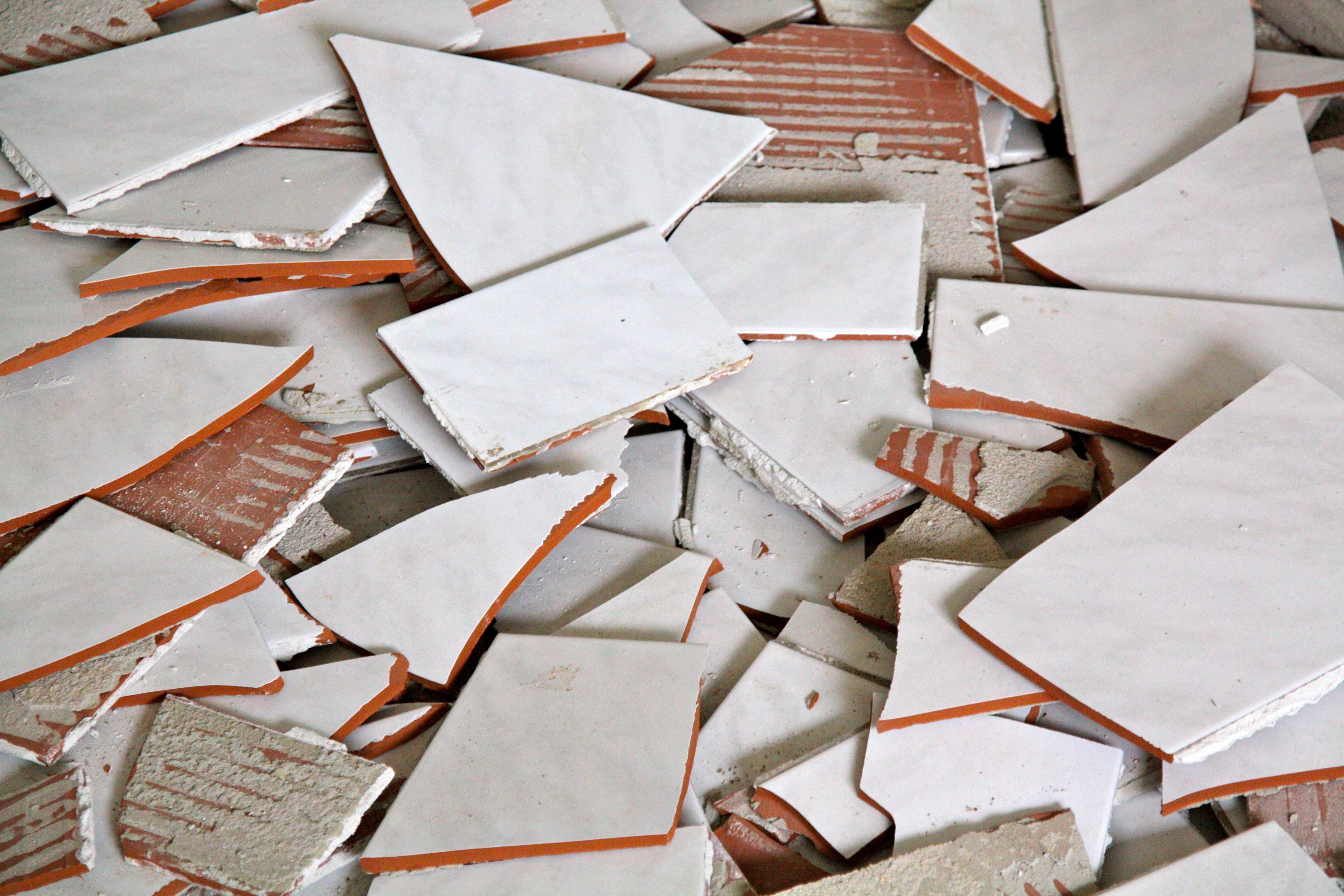 Free Images Work Wood White Construction Repair Pattern Food - Ceramic tile scraps