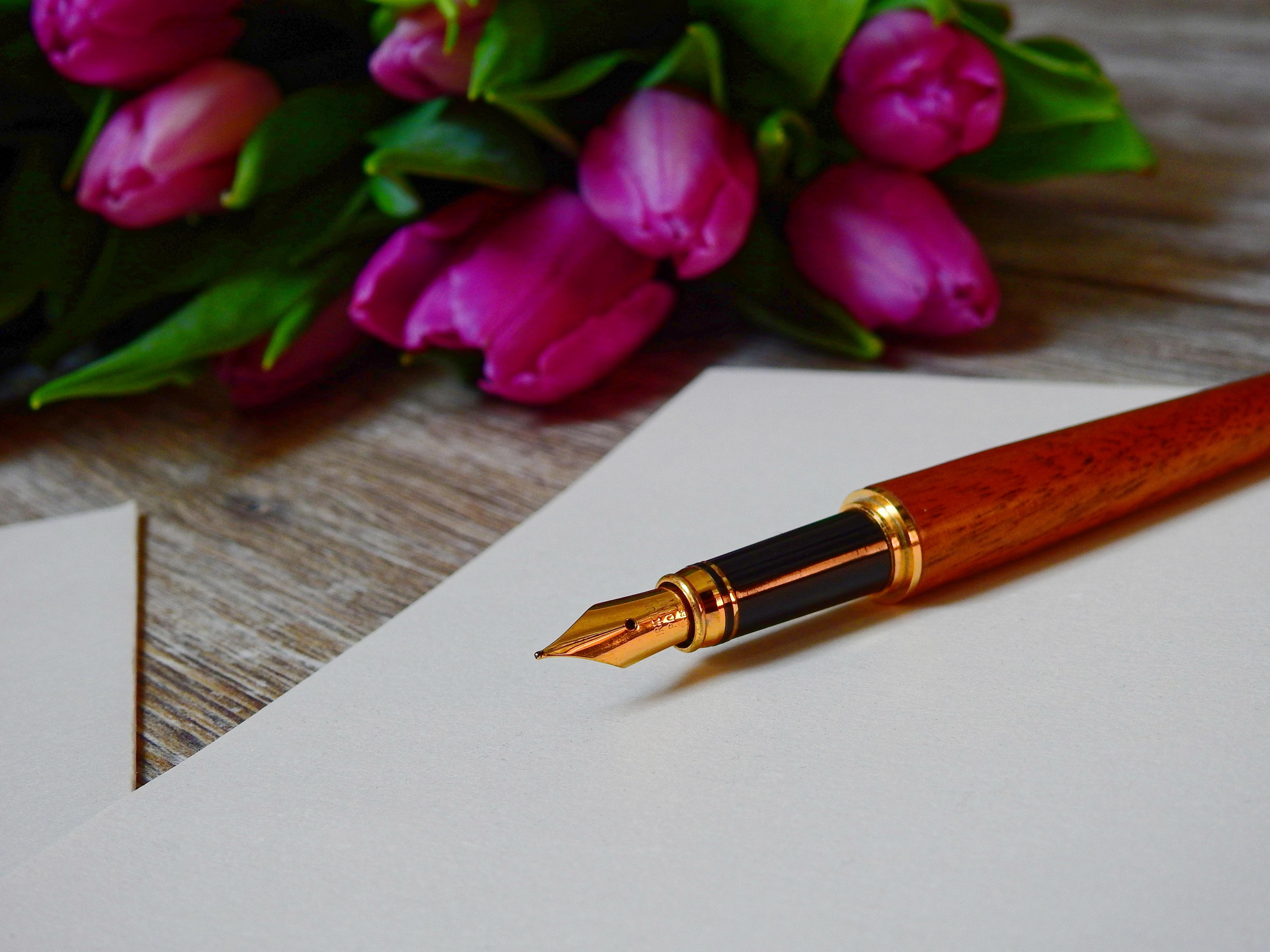 ручка не пишет на открытке уже