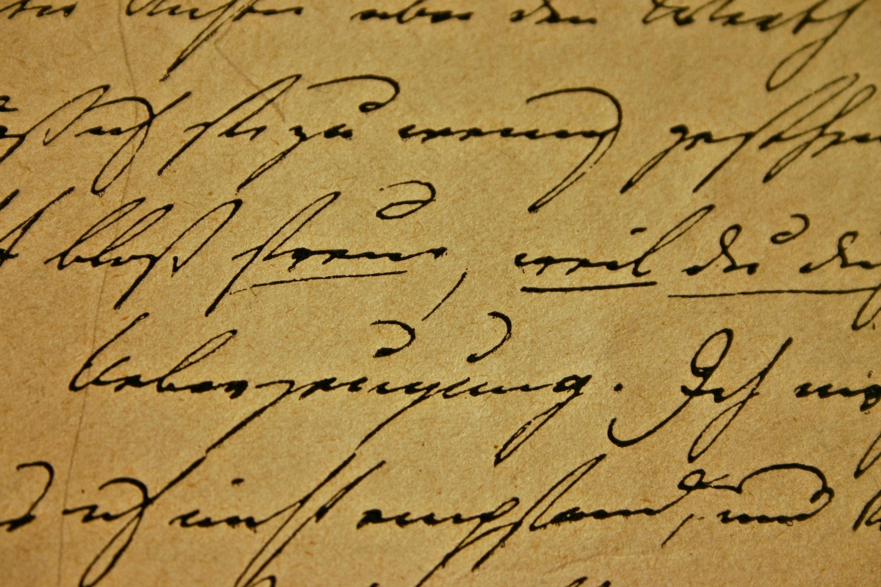 Images gratuites l 39 criture livre antique nombre Calligraphy books free