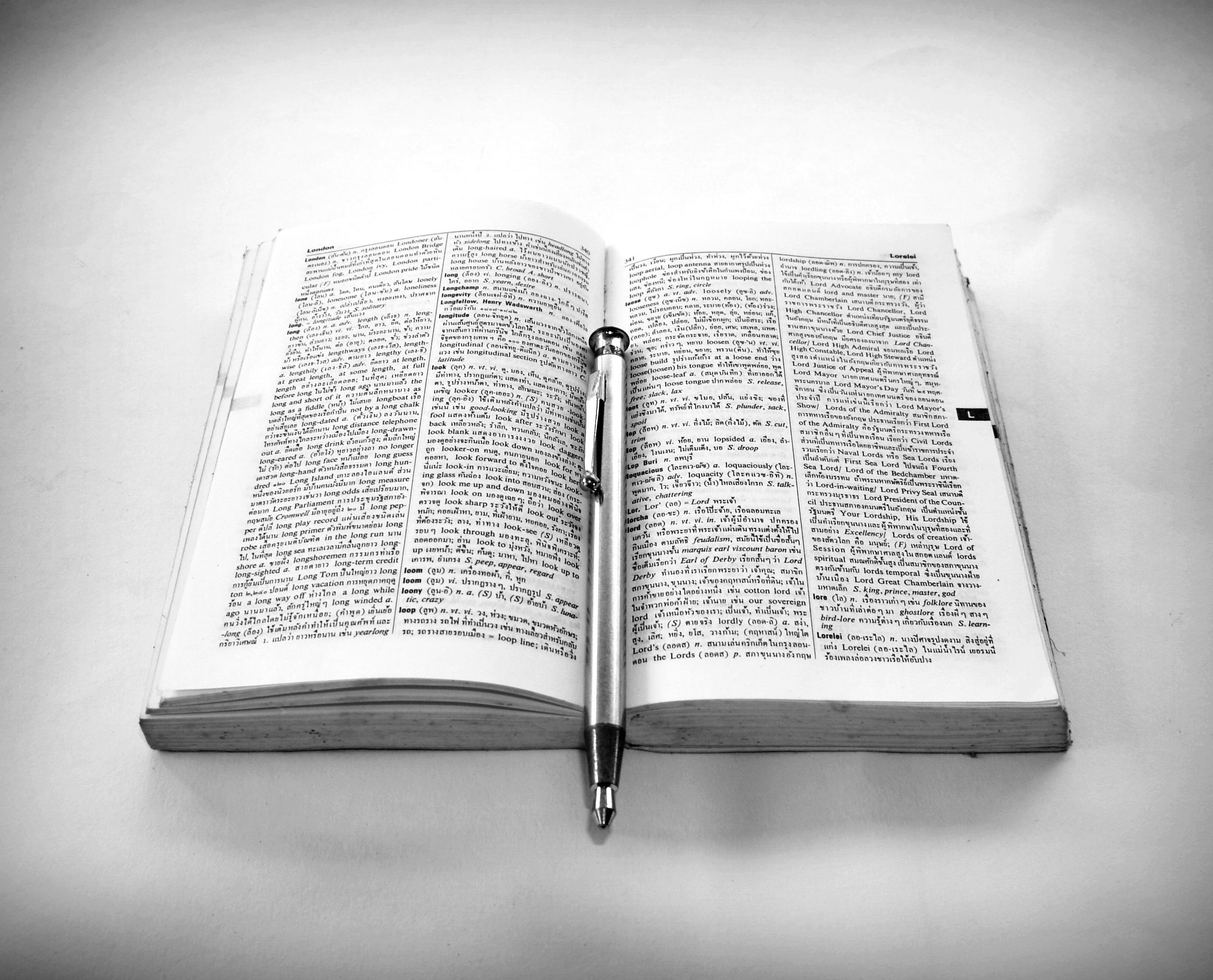 Images Gratuites L Ecriture Livre Creatif Noir Et Blanc