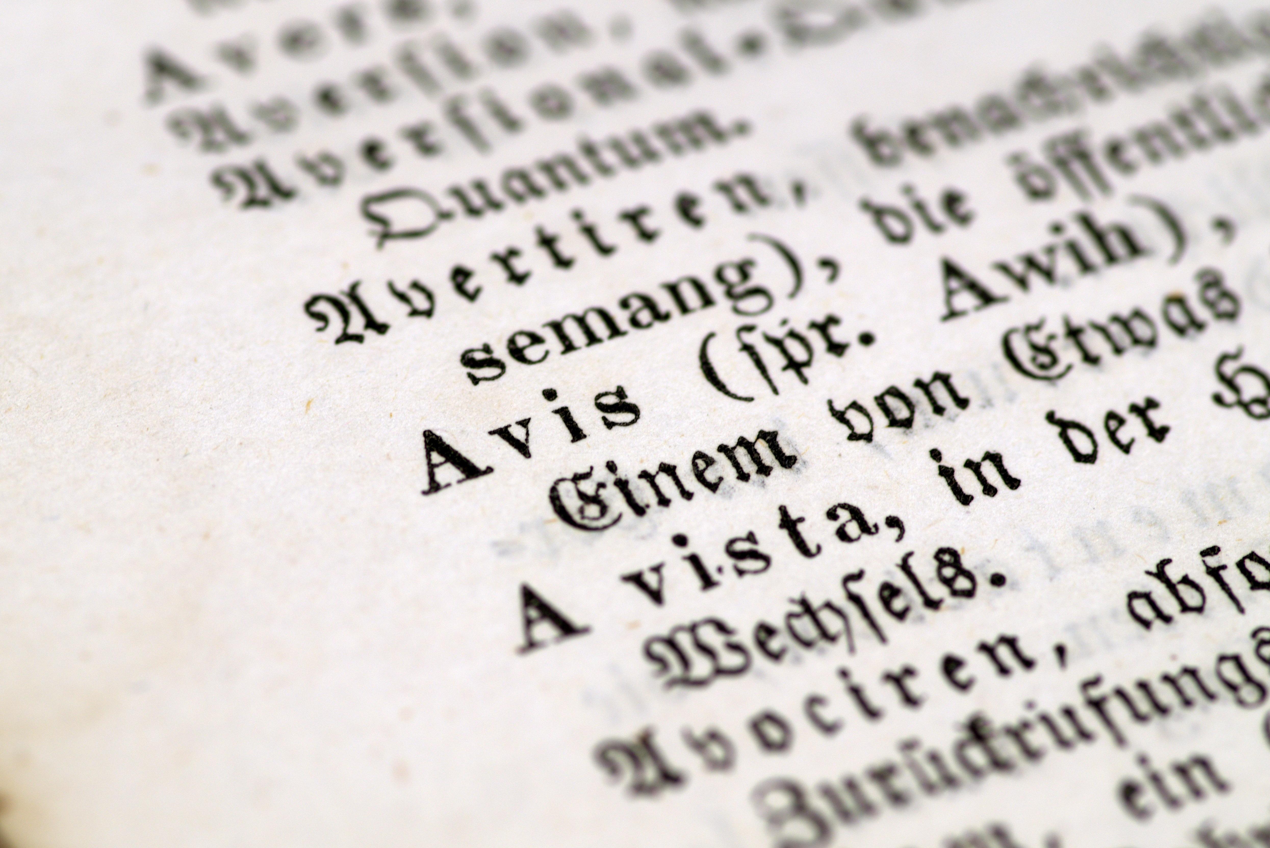 Gambar Penulisan Book Garis Gotik Buku Lama Merek Fon