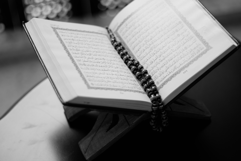 Writing book read black and white white photography macro black monochrome close up brand religious design