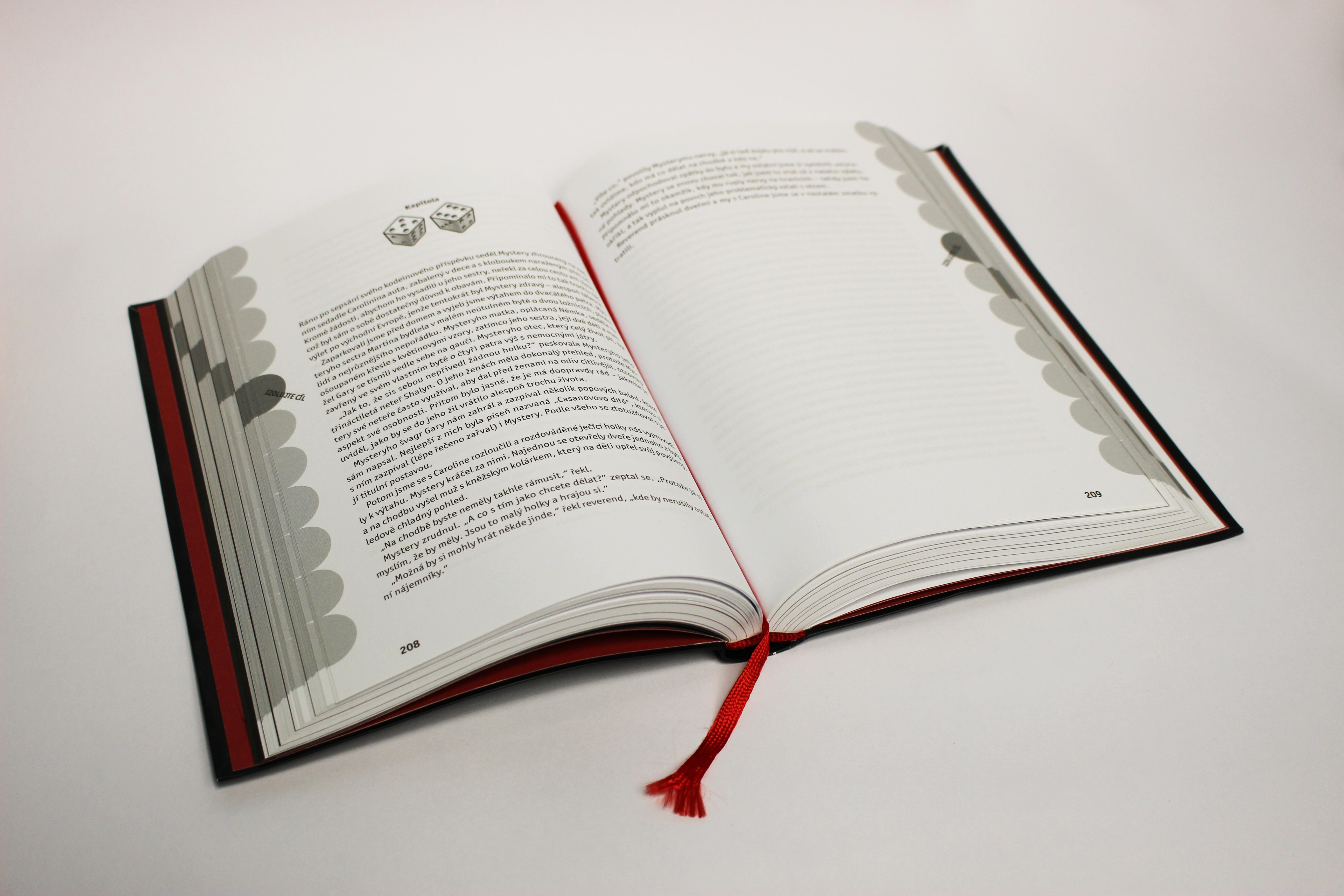 Gambar Penulisan Book Bacaan Merek Produk Seni