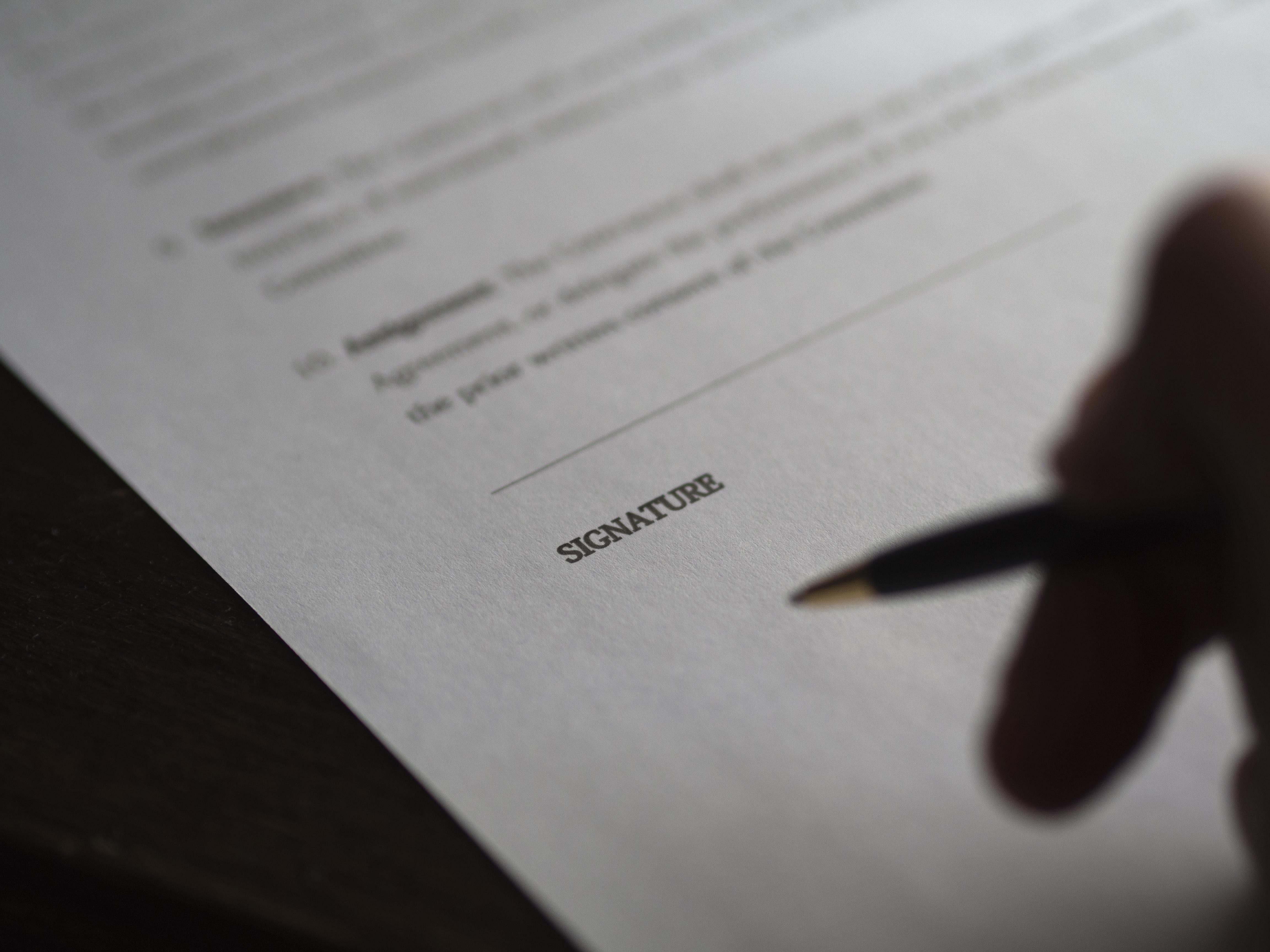 Kostenlose Foto Schreiben Hand Geschäft Nahansicht Marke