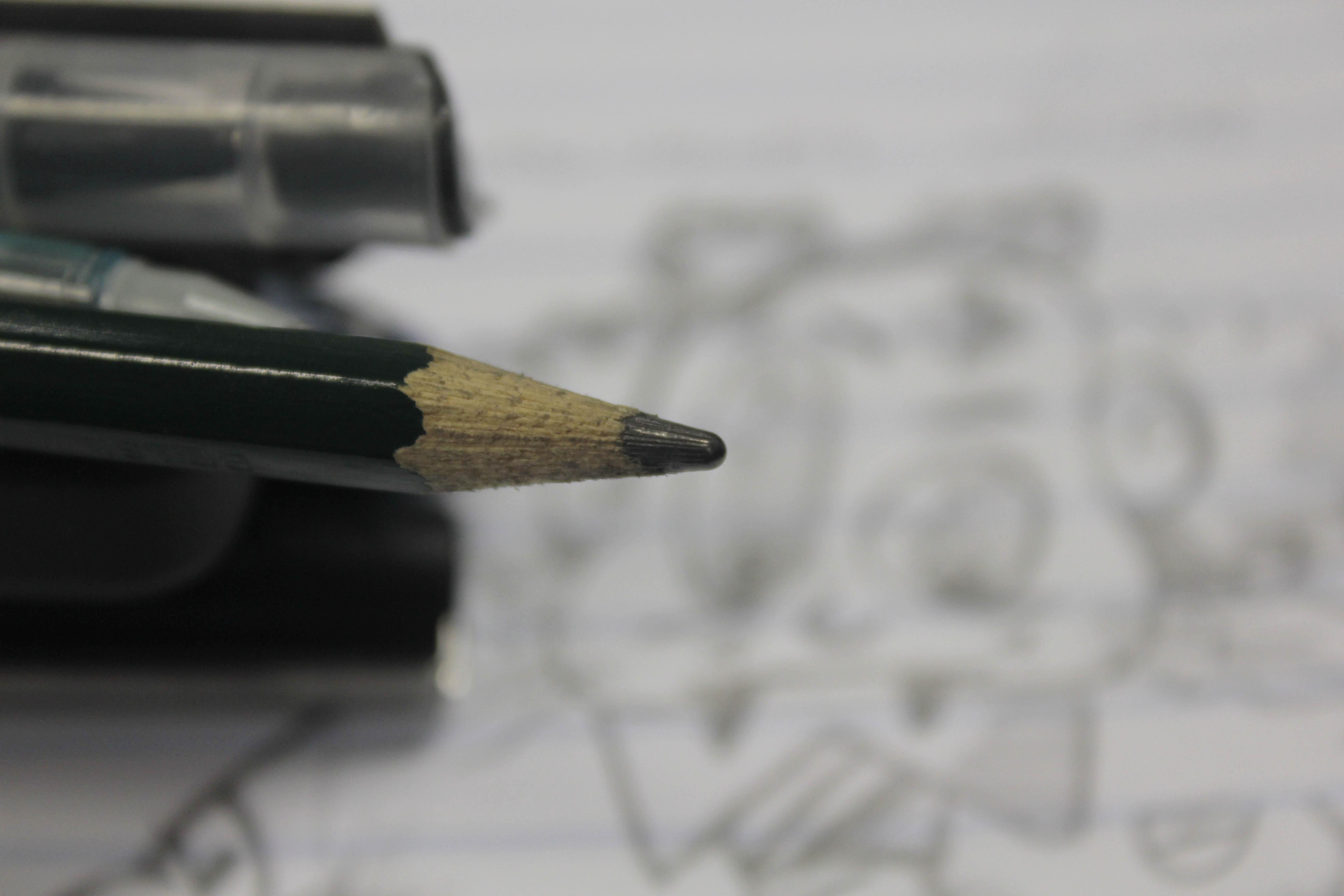 Fotos Gratis Escritura Mano Lápiz Bolígrafo Dibujo Gafas