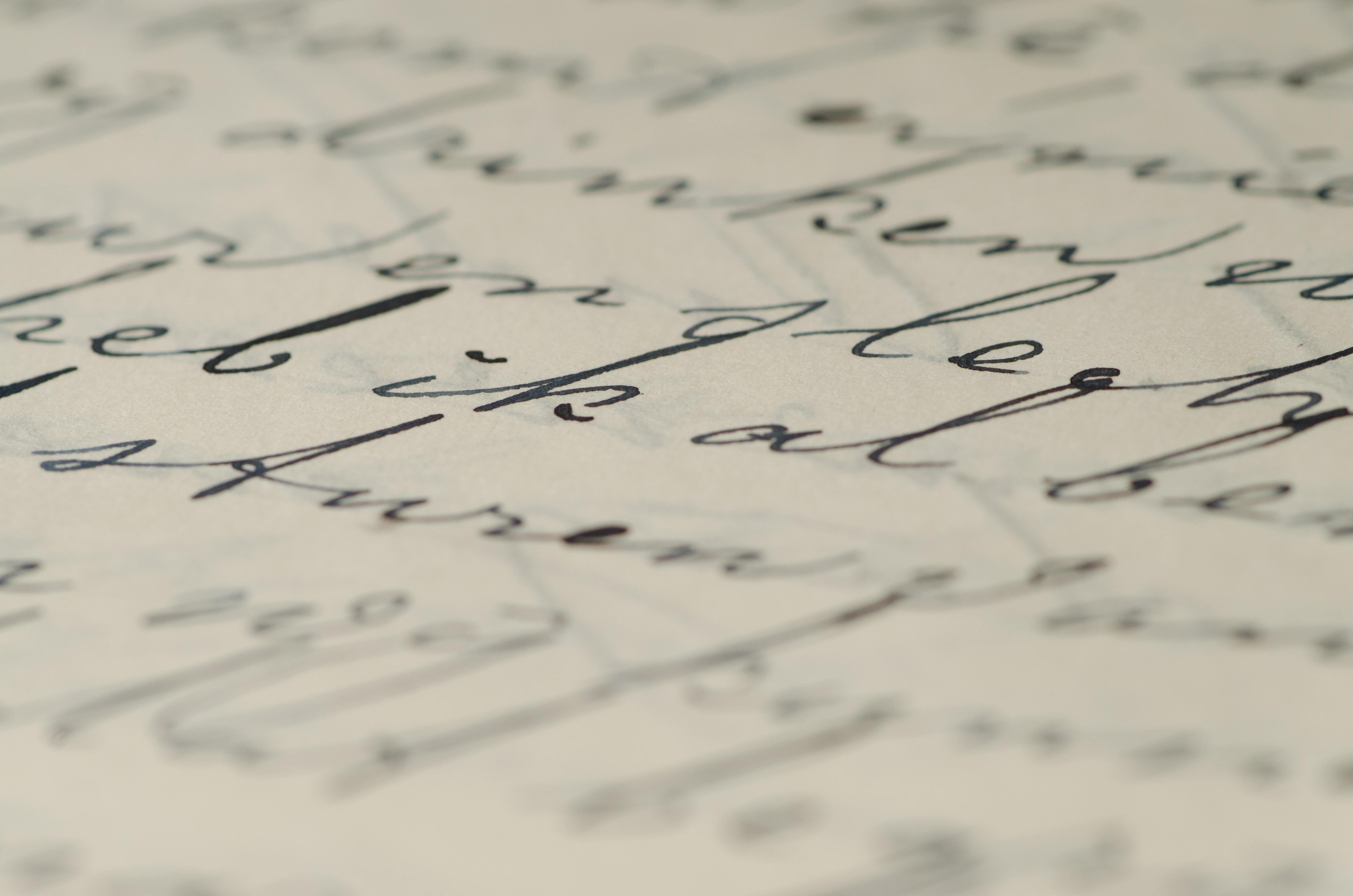 Free images writing number pen line letter ink close up