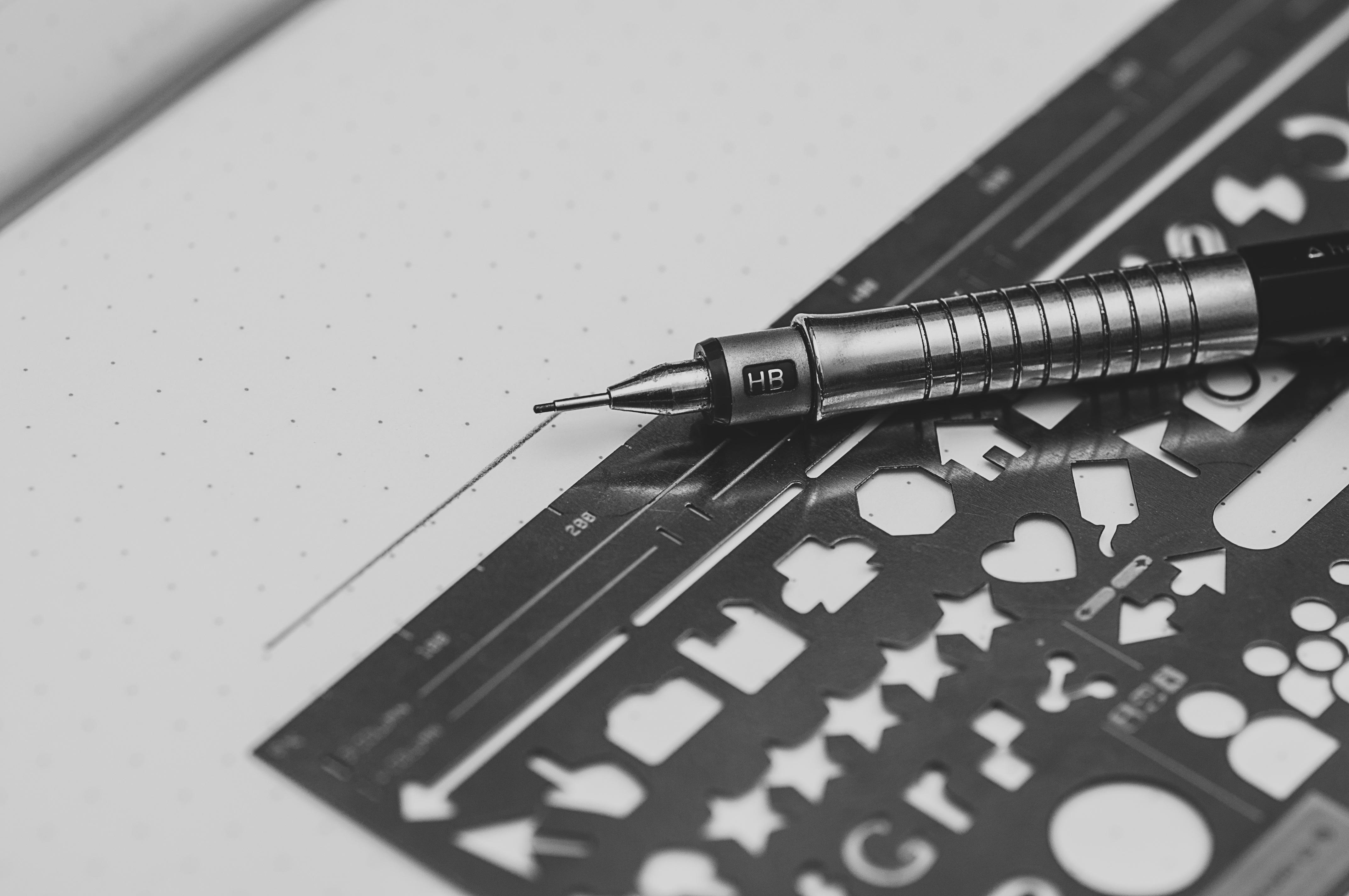 Fotos gratis : escritura, lápiz, en blanco y negro, Retro, bolígrafo ...