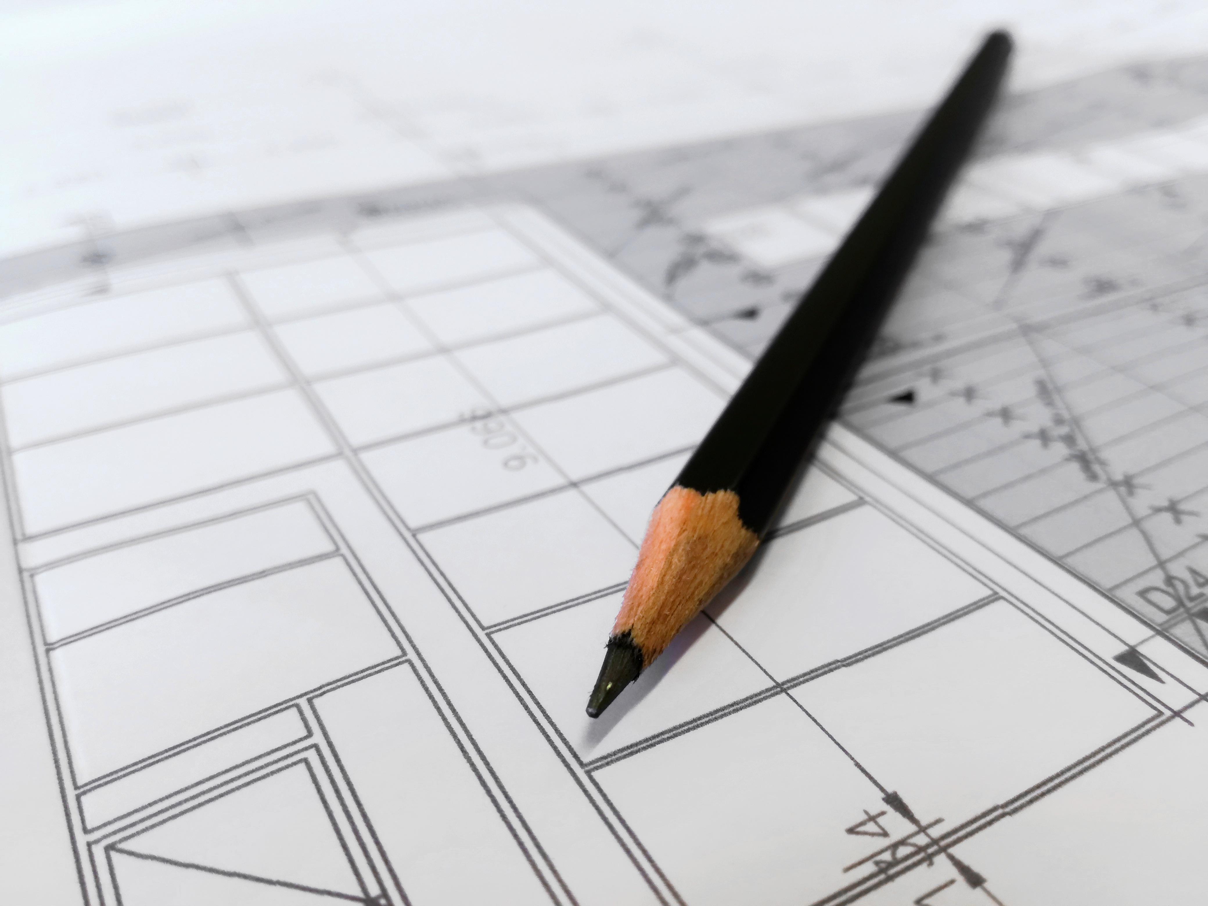 Gambar Penulisan Pensil Pena Arsitek Garis Artis