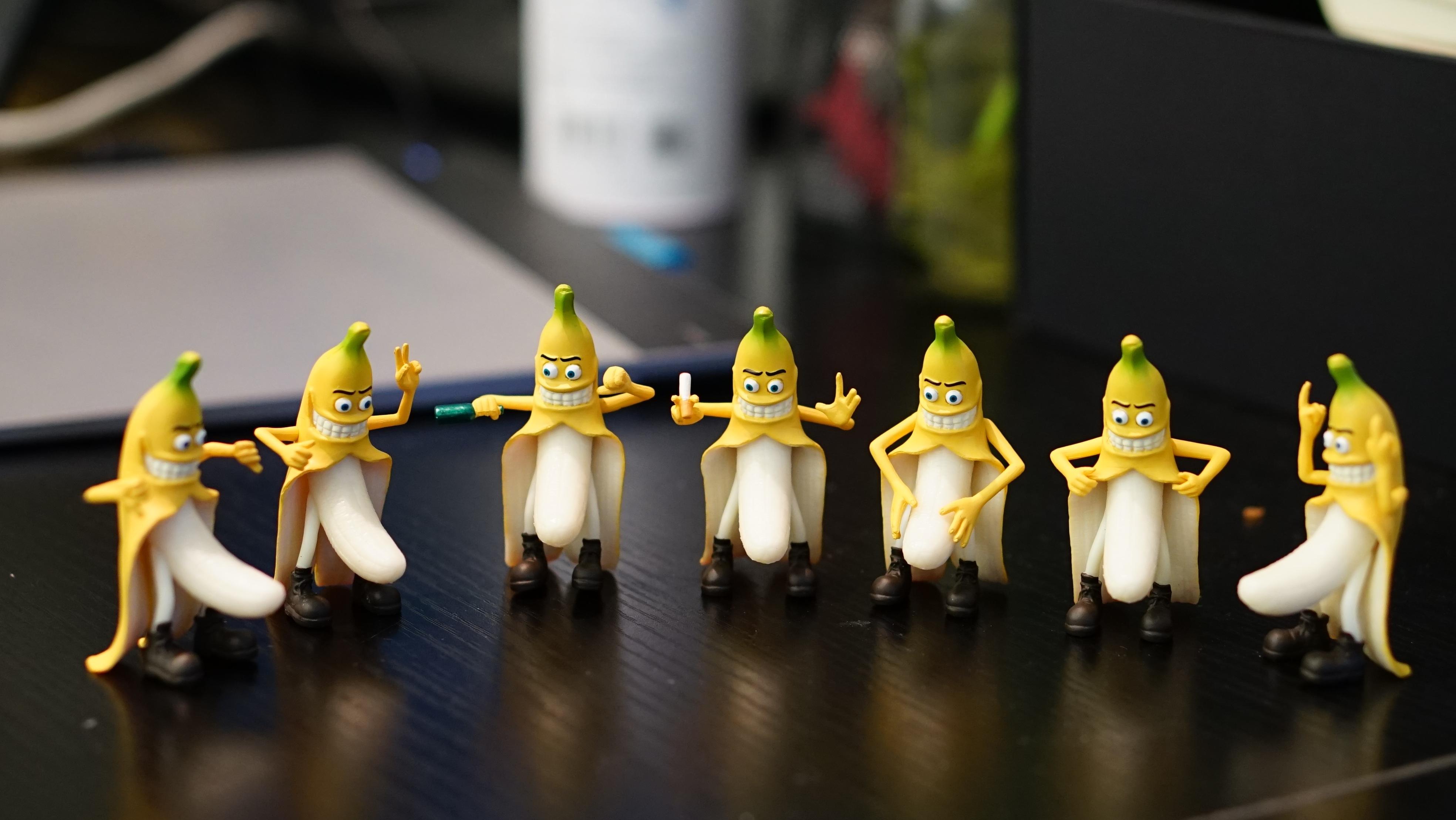 Банан в сексуальной игре